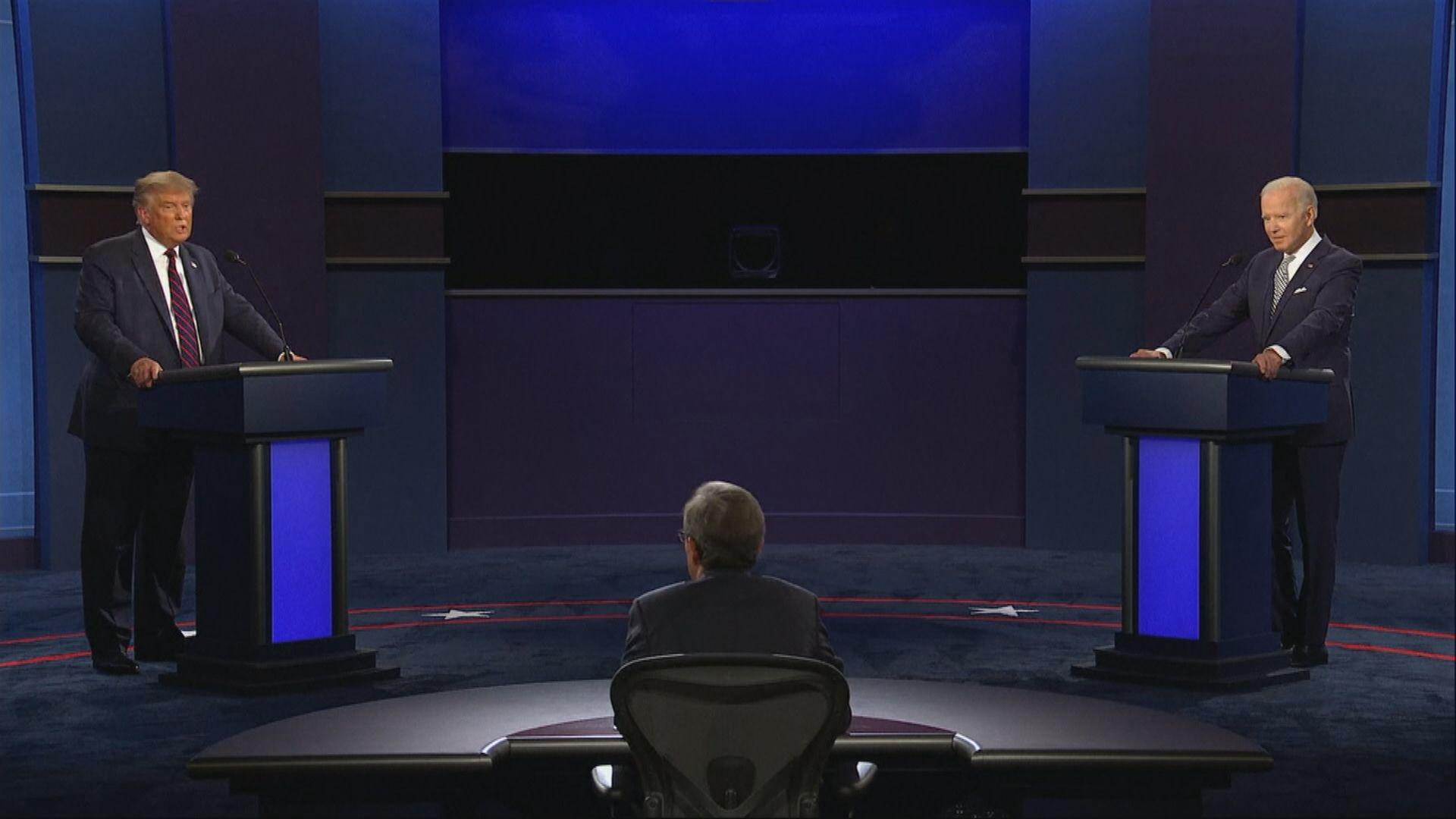 美國總統候選人第二場辯論取消
