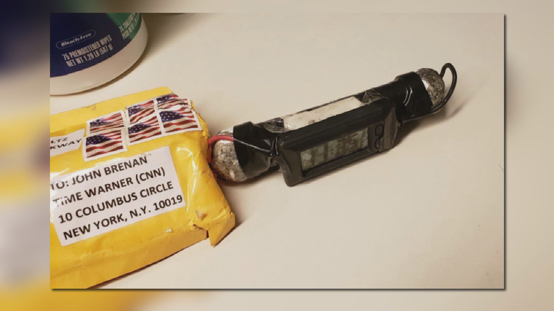 美國政商界傳媒遭懷疑炸彈威脅