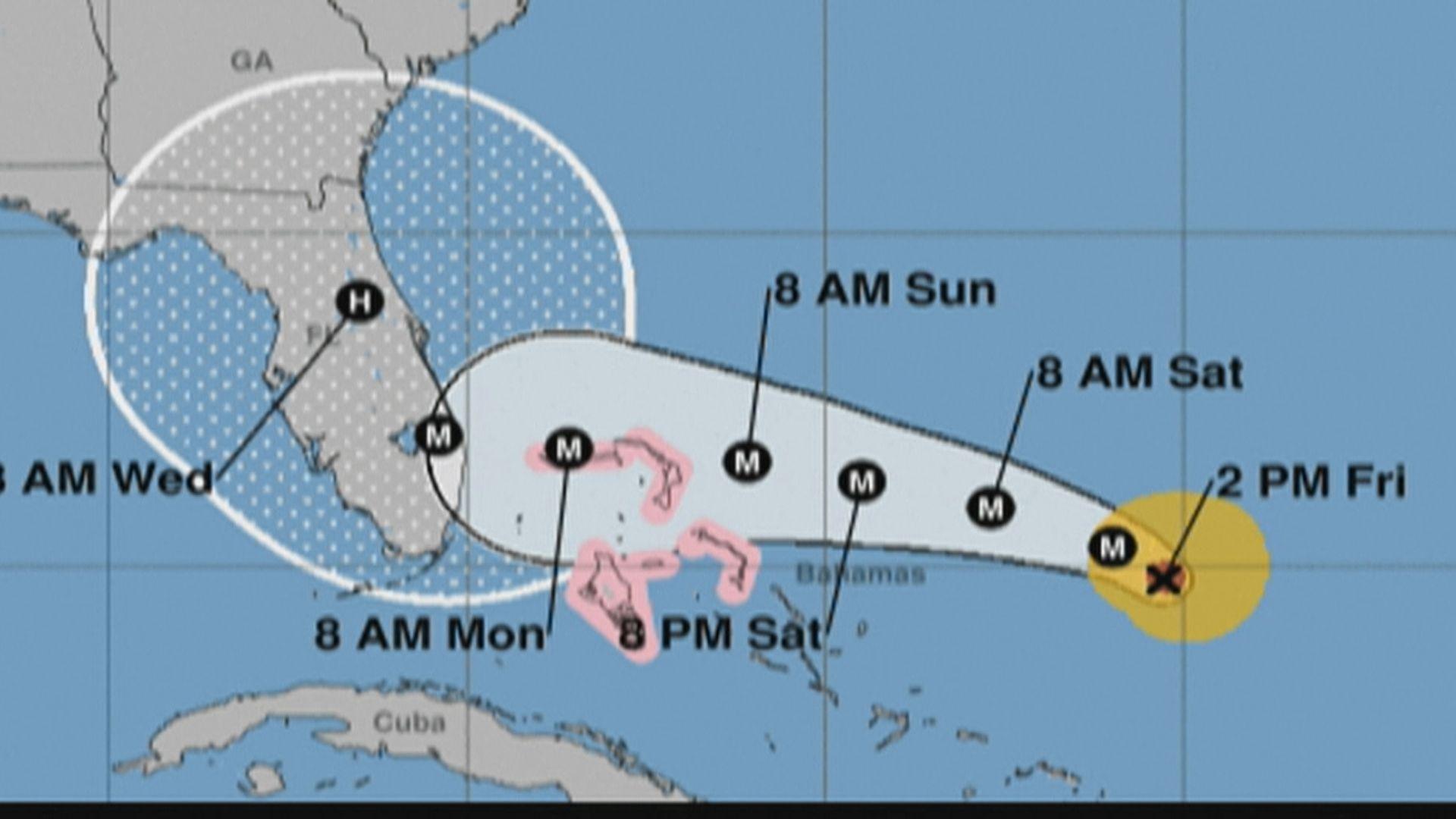 四級颶風逼近 佛羅里達州進入緊急狀態