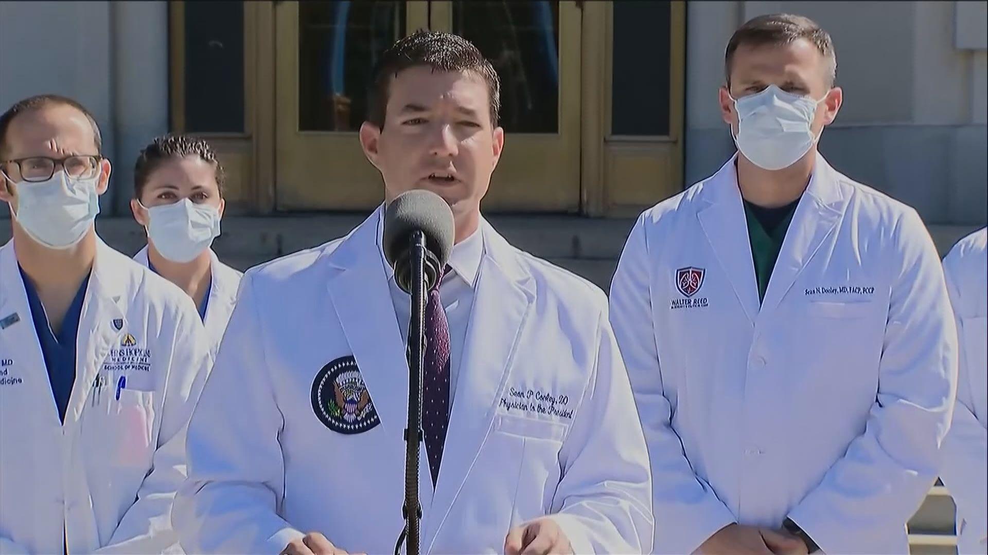 美國白宮醫生康利被質疑作出政治化而非專業決定