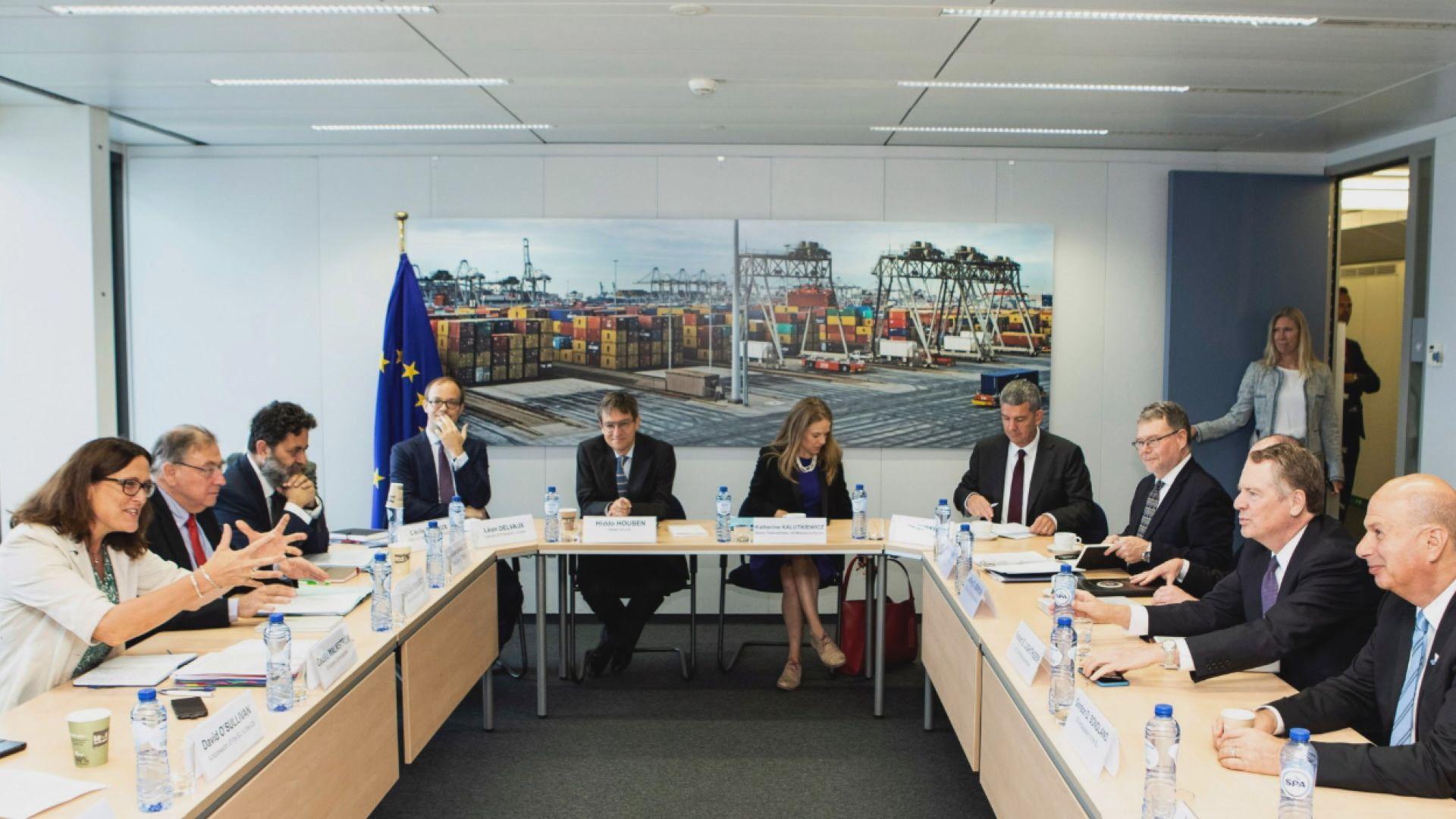 美方冀11月與歐盟解除部分貿易壁壘
