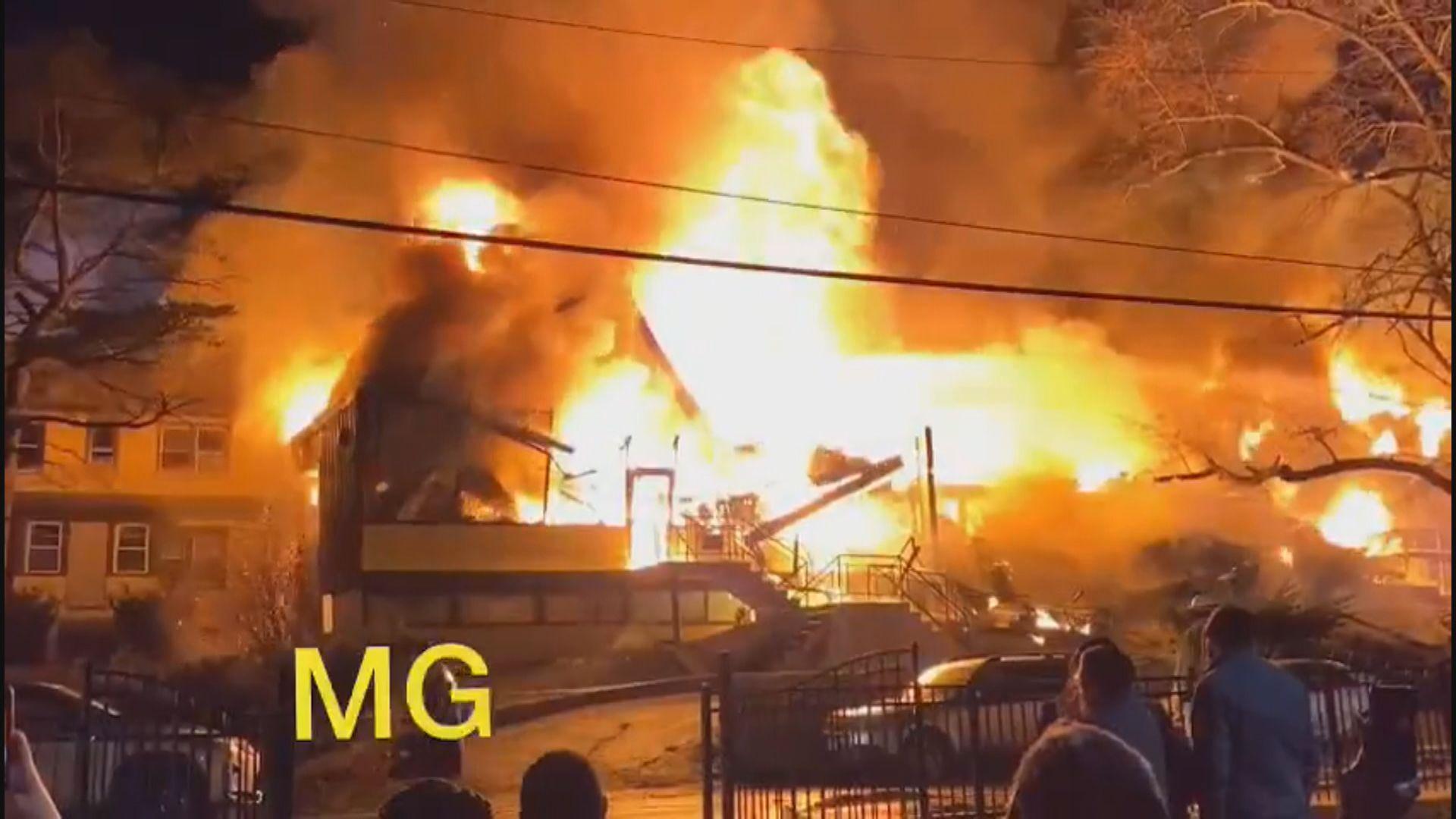 紐約一間護老中心火警至少一死