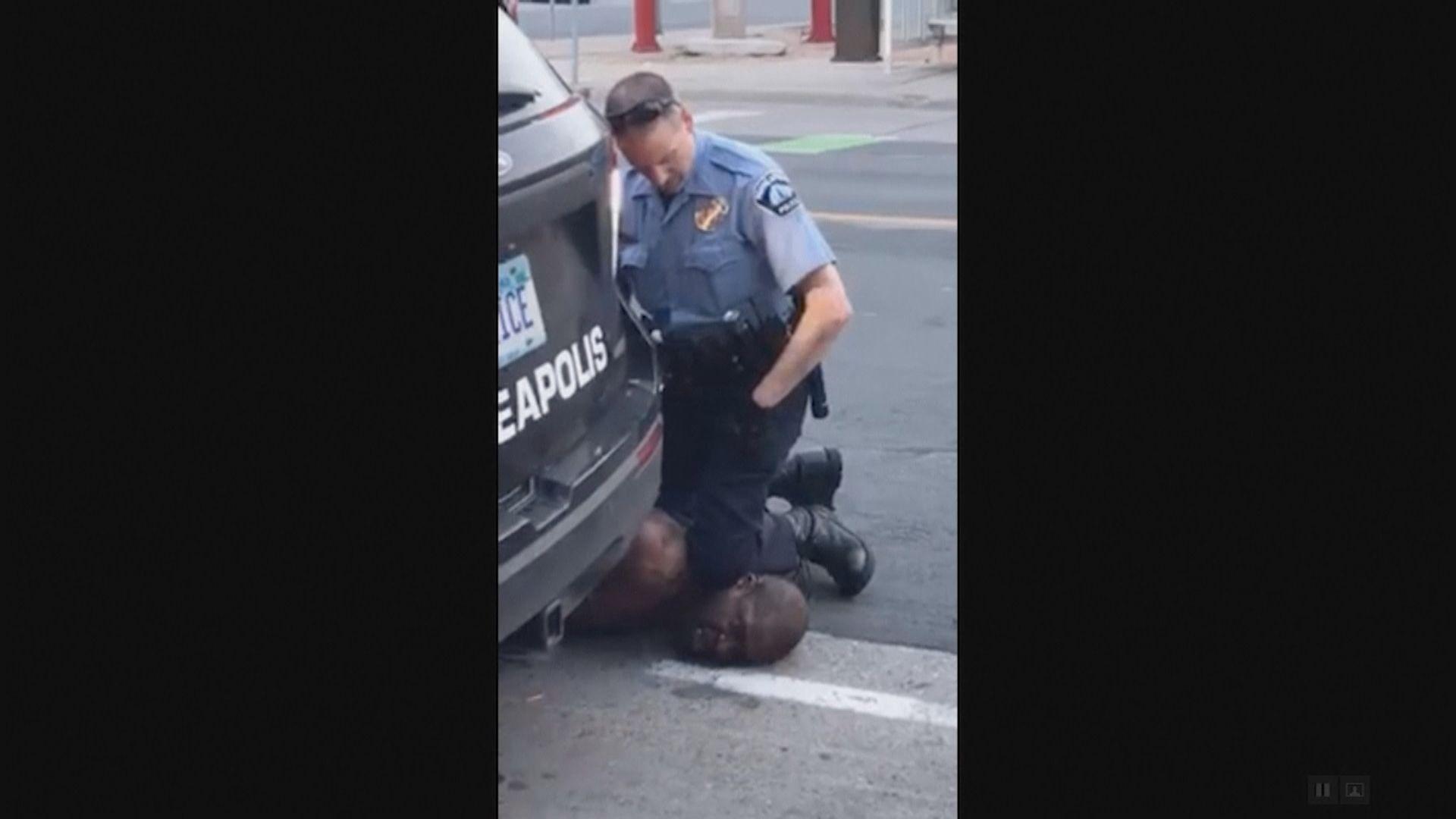 美國黑人被跪頸致死 前警員肖萬全部三罪成立或上訴