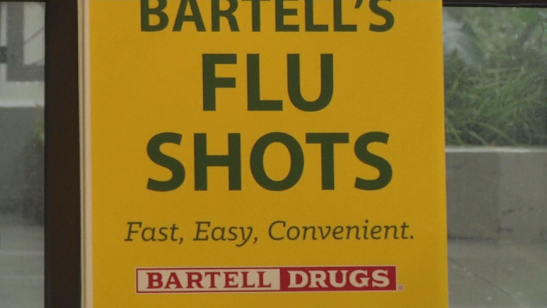 美國流感病毒感染1500萬人 逾8200人死