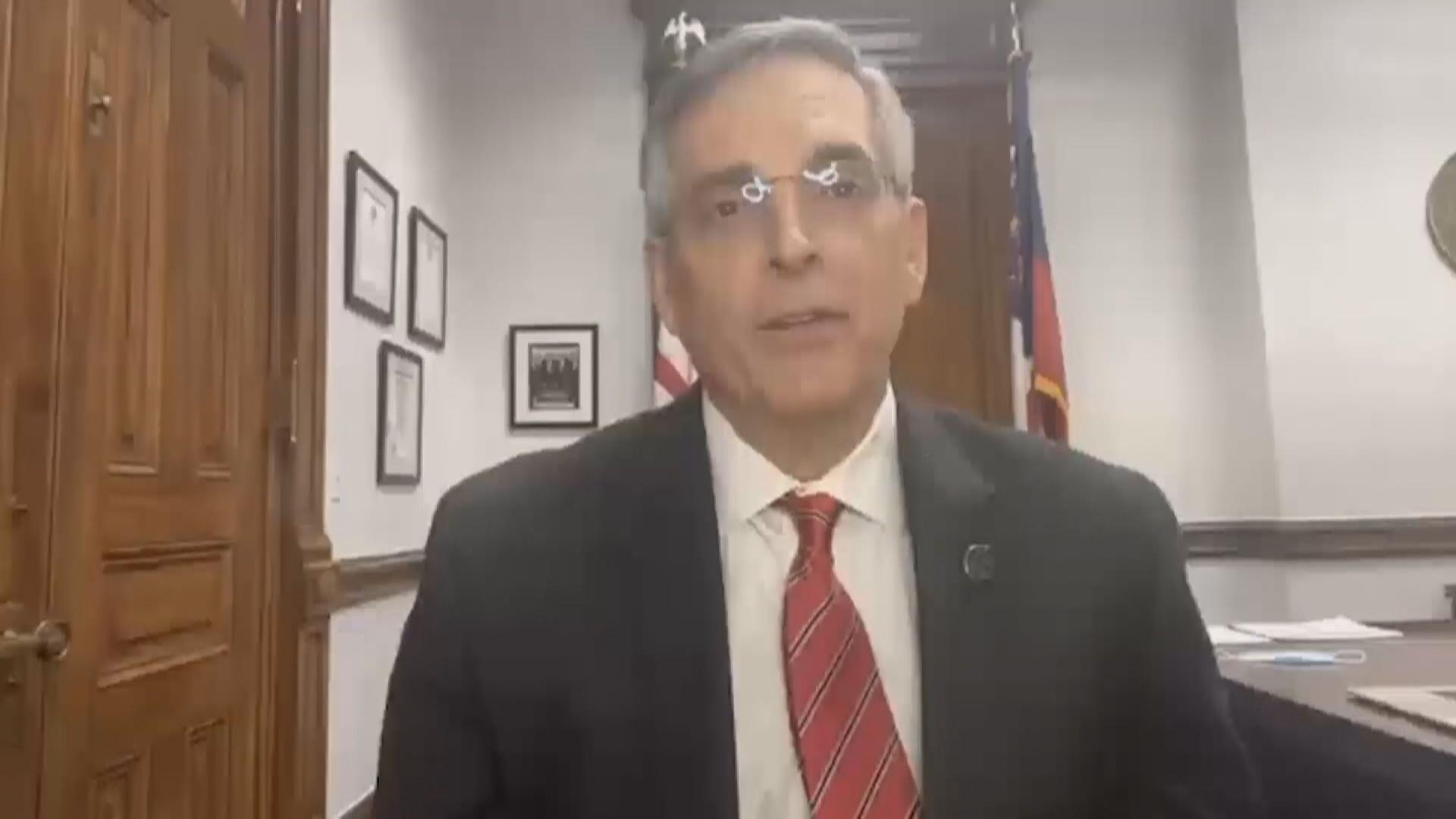 佐治亞州州務卿:特朗普根據錯誤數據提出舞弊指控