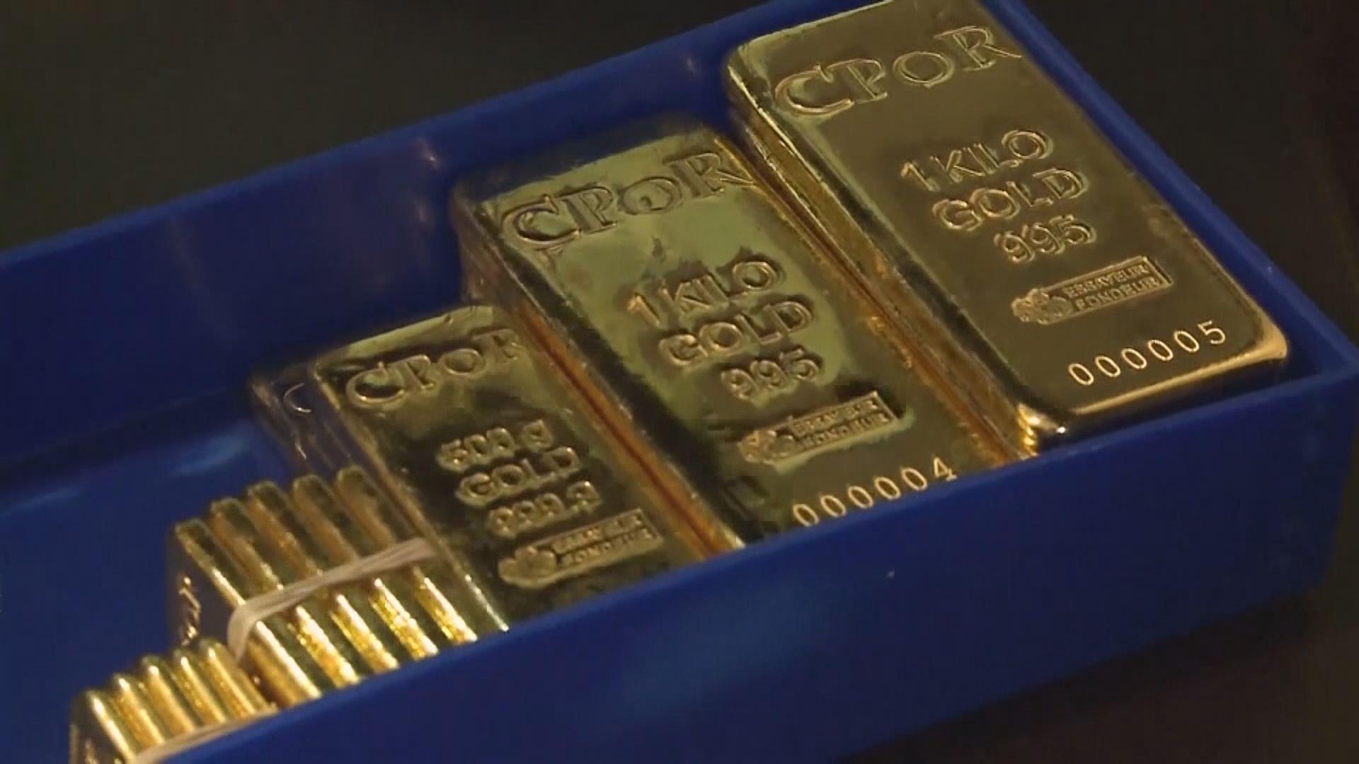 金價上升 因中國兩年來首次增持黃金儲備