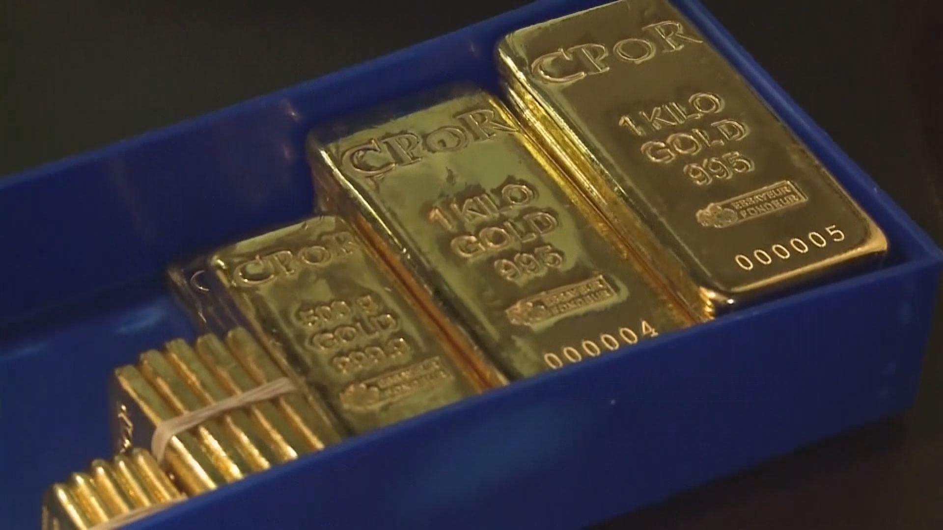 金價本周升逾1% 六周來最大單周升幅