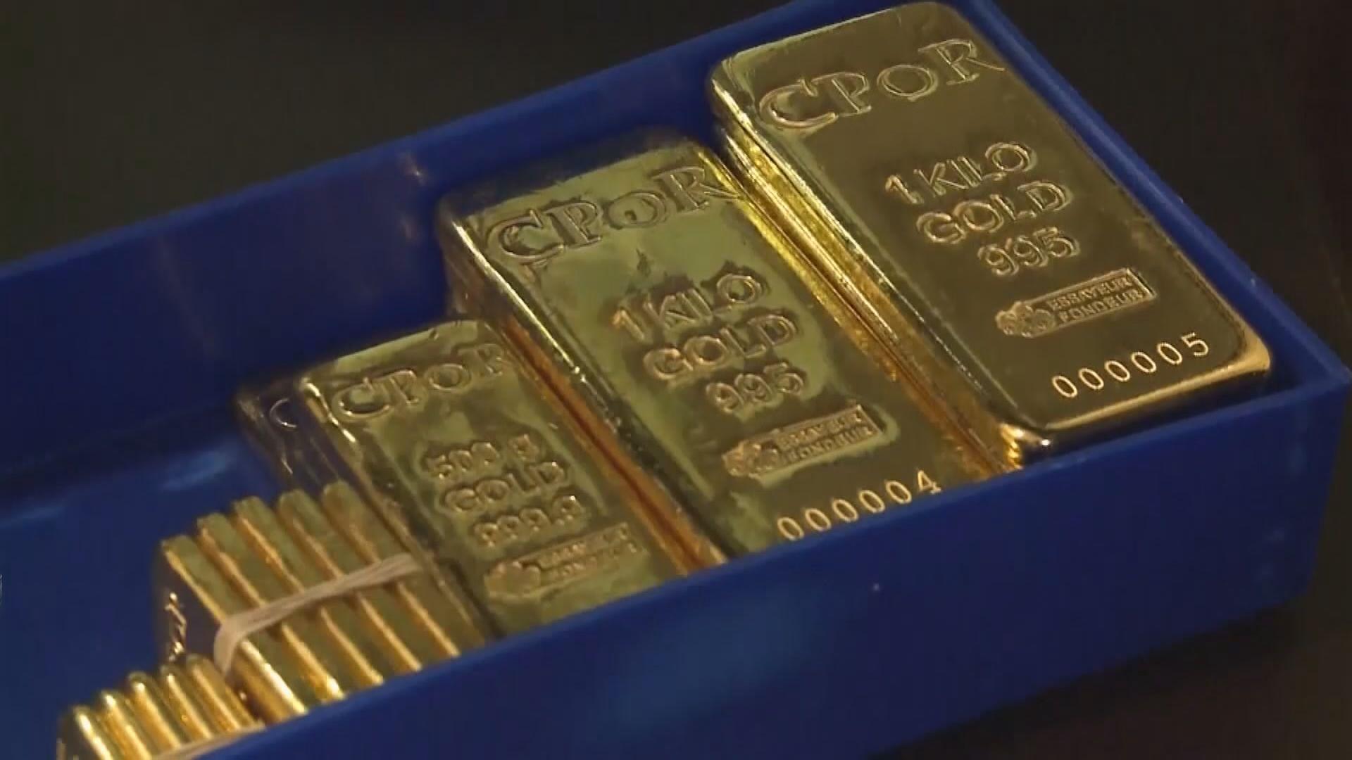 紐約期金結束3連升 因歐美股市上升