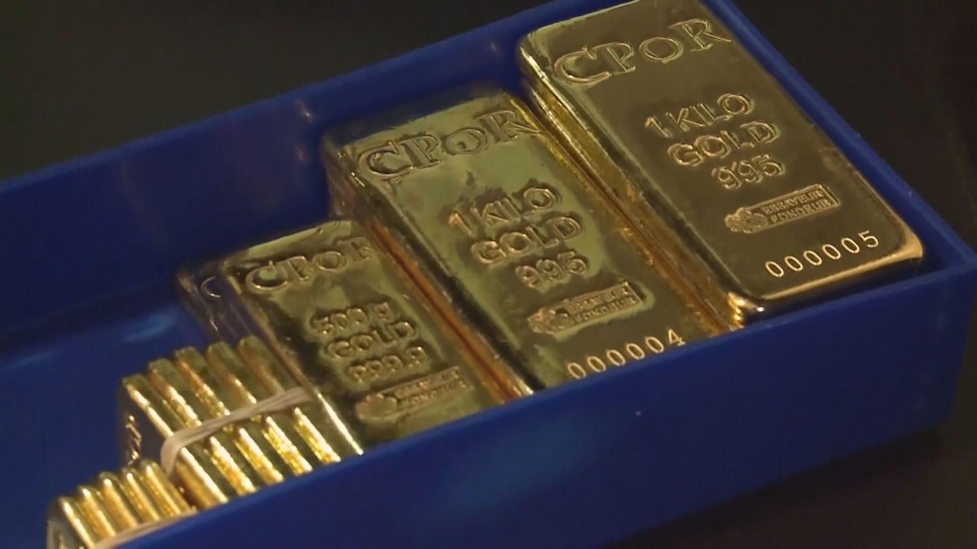 金價升約1% 貿易不確定提升黃金避險需求