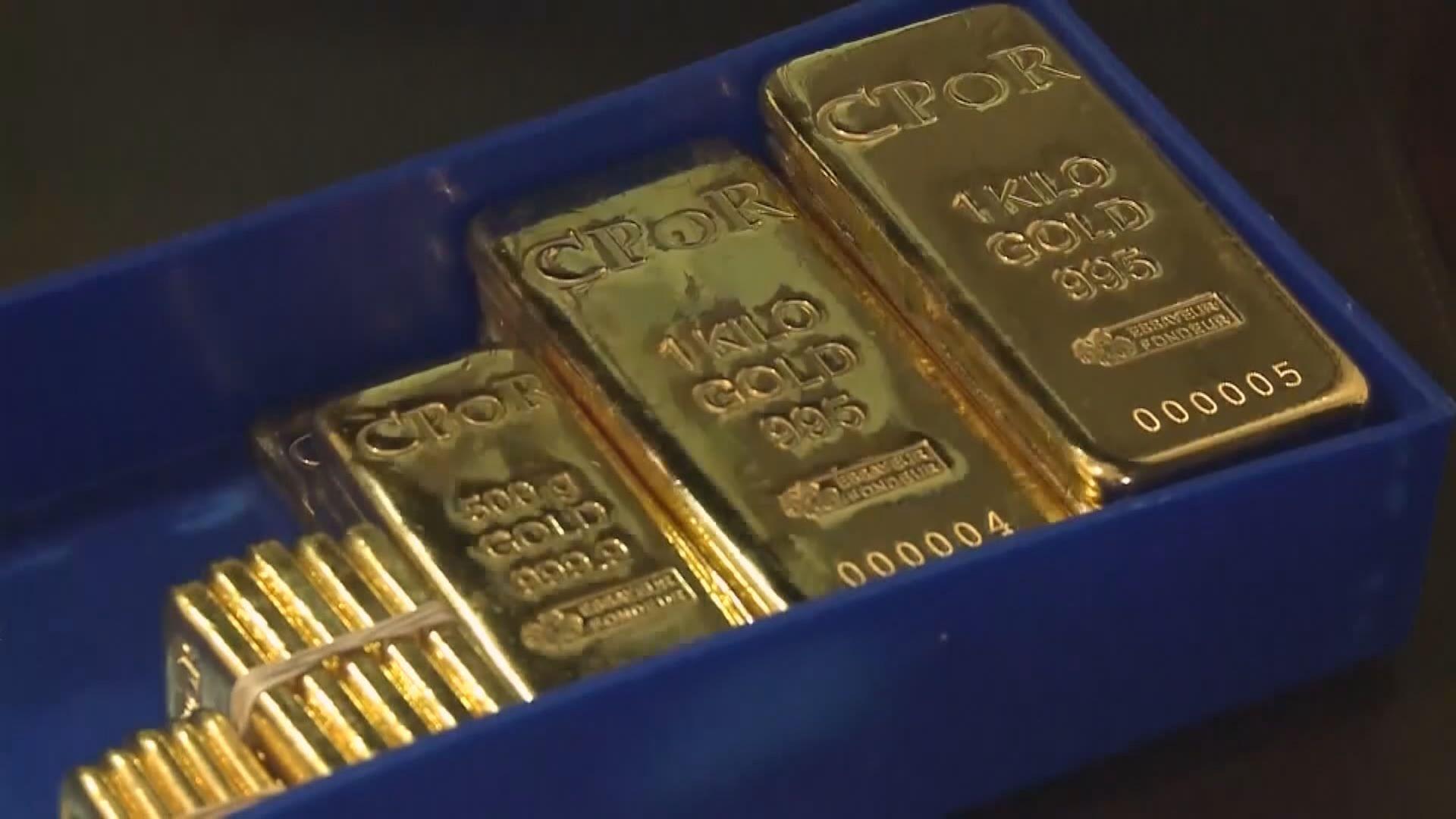 金價升至近2個月高位 錄得逾4個月來最大一周升幅
