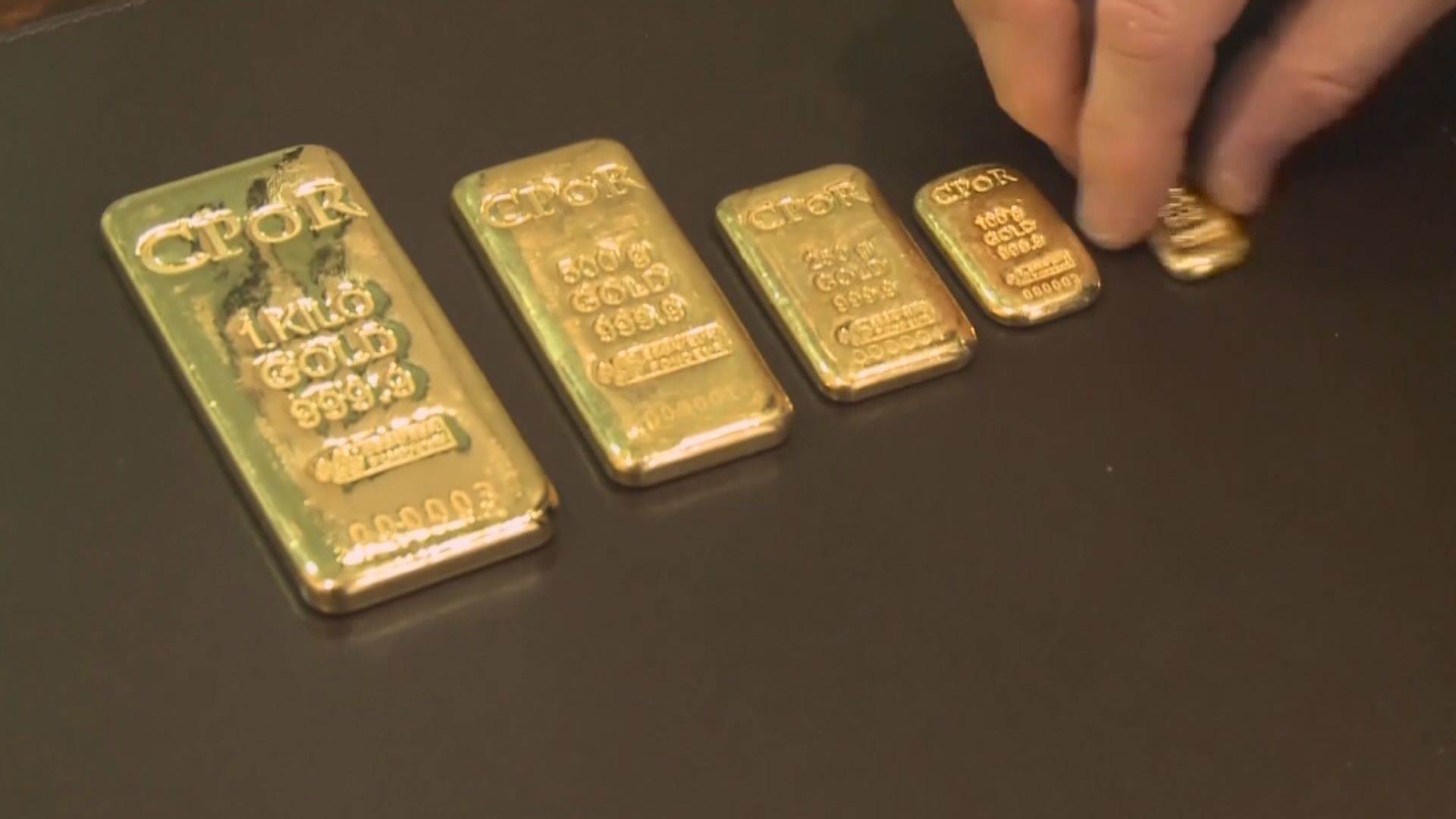 國際金價上升