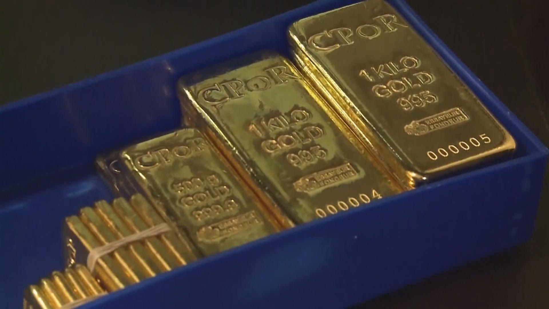 金價再刷新7年高位 本周升約4%