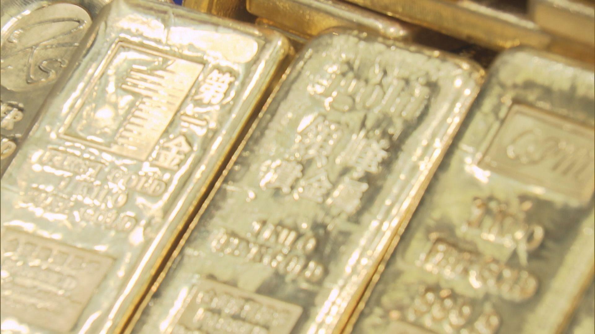 金價上升 因美國疫情反彈及美股下挫