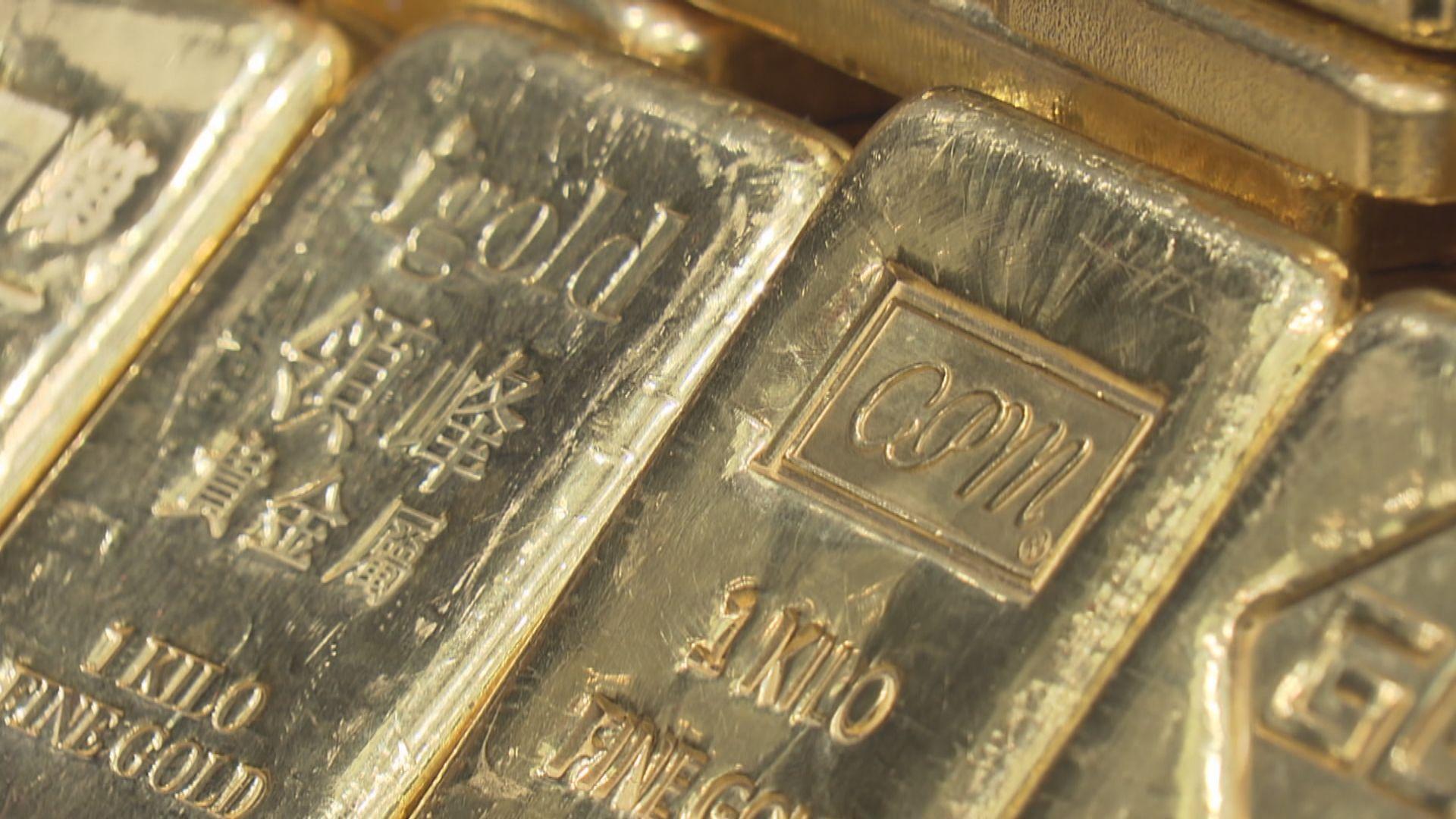 金價從紀錄高位回落 因美元和歐美股市升