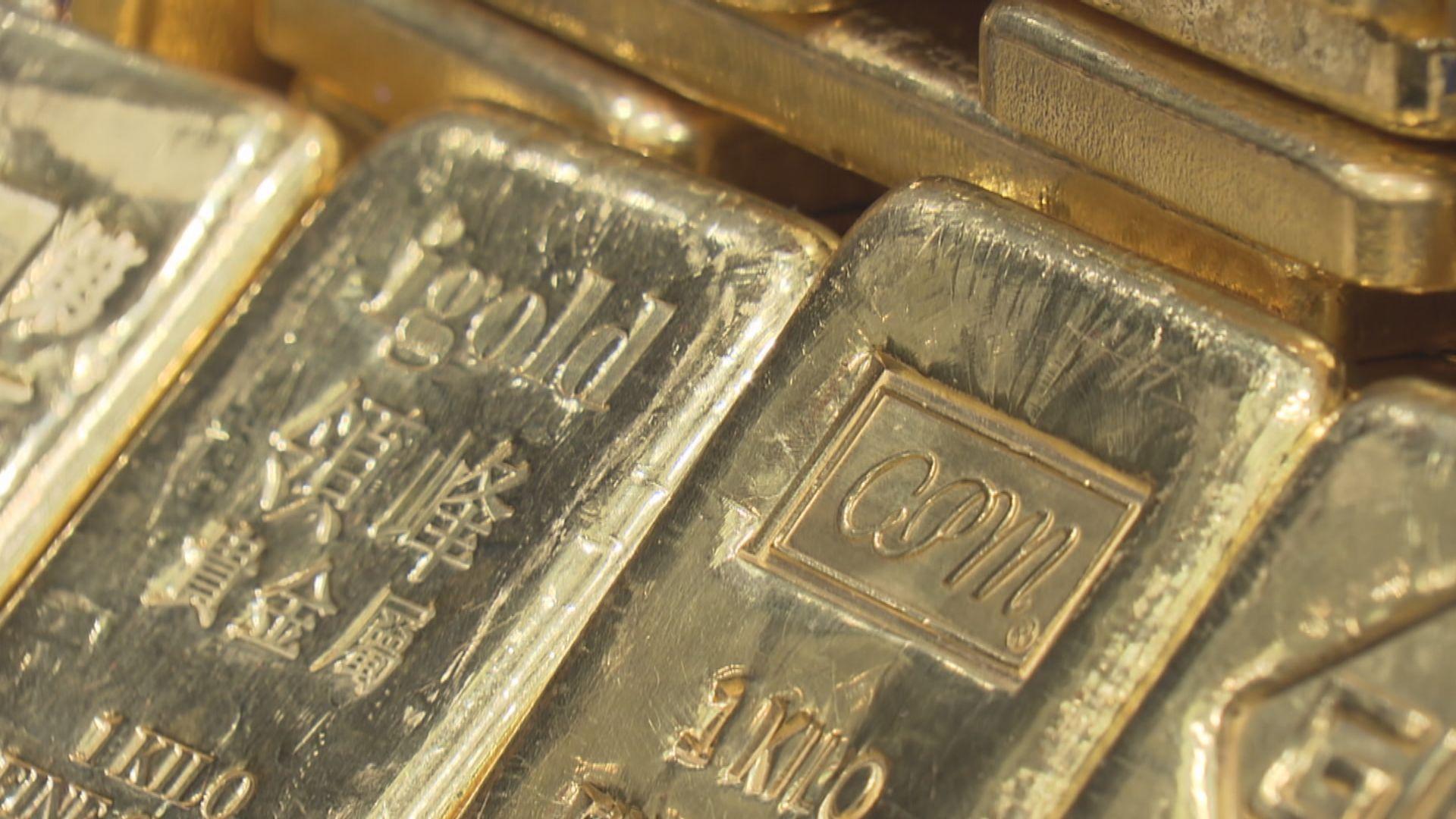 金價顯著下跌並跌穿每盎司1900美元