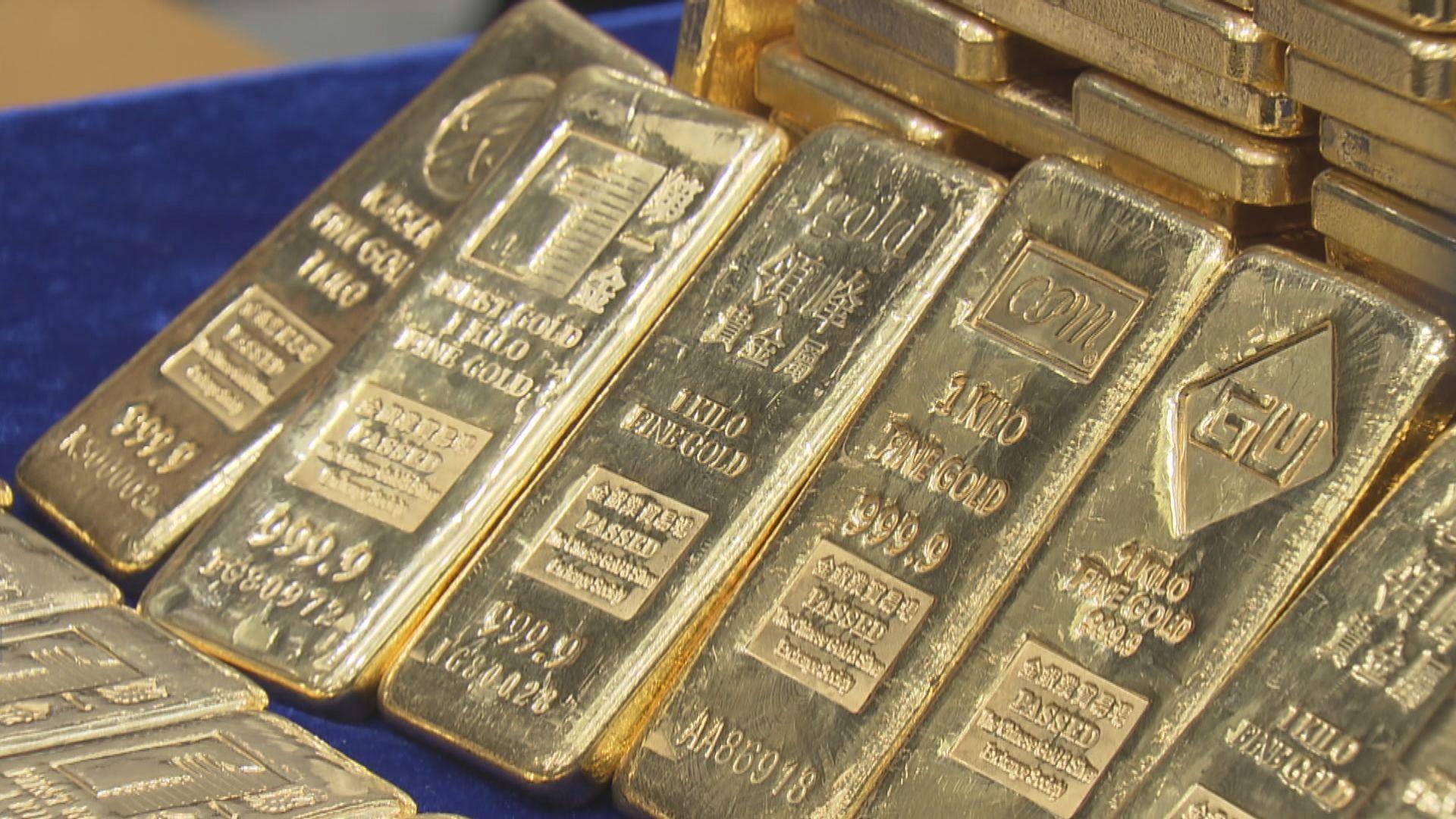 金價靠穩 疫情憂慮抵銷美元匯價上升影響