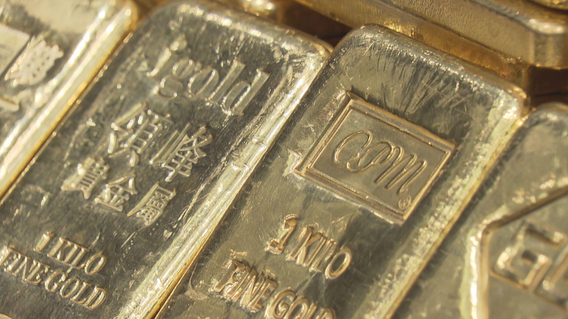 金價跌逾1% 失守每盎司1800美元關口