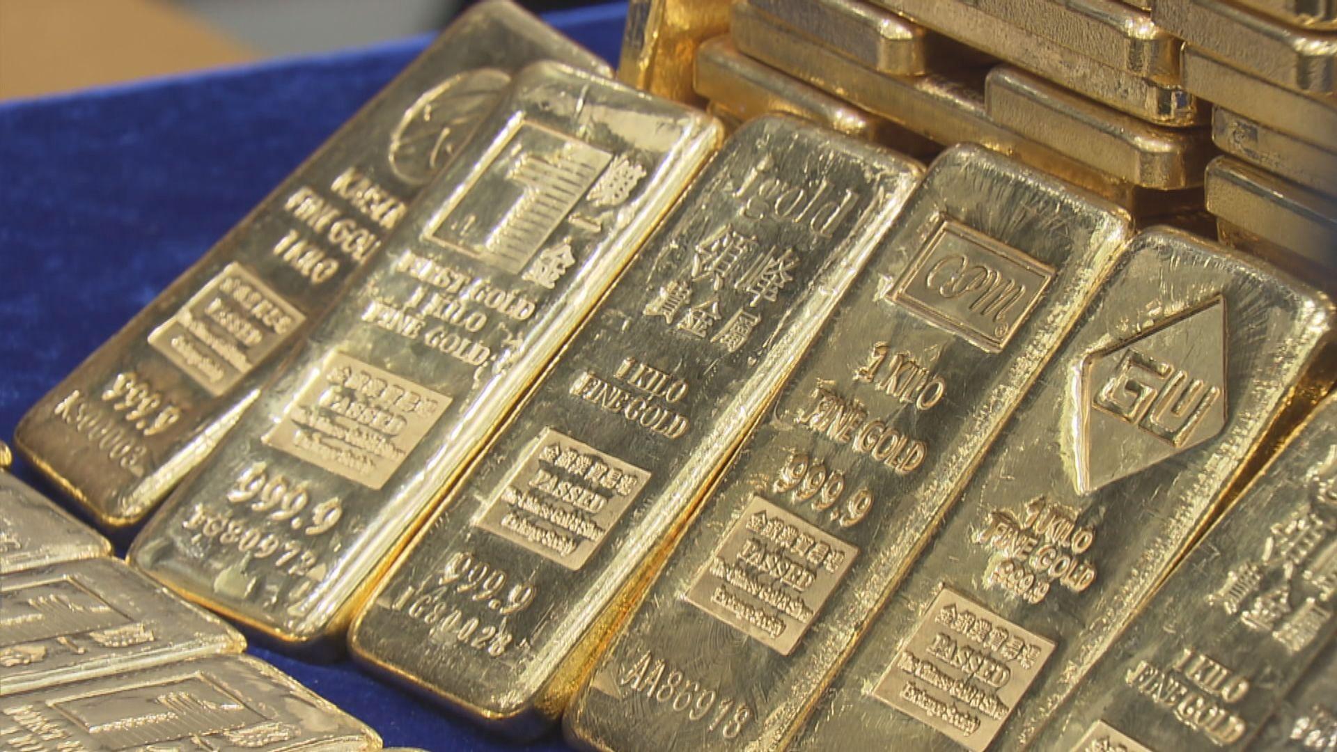 金價升逾1%並重上每盎司1800美元關口