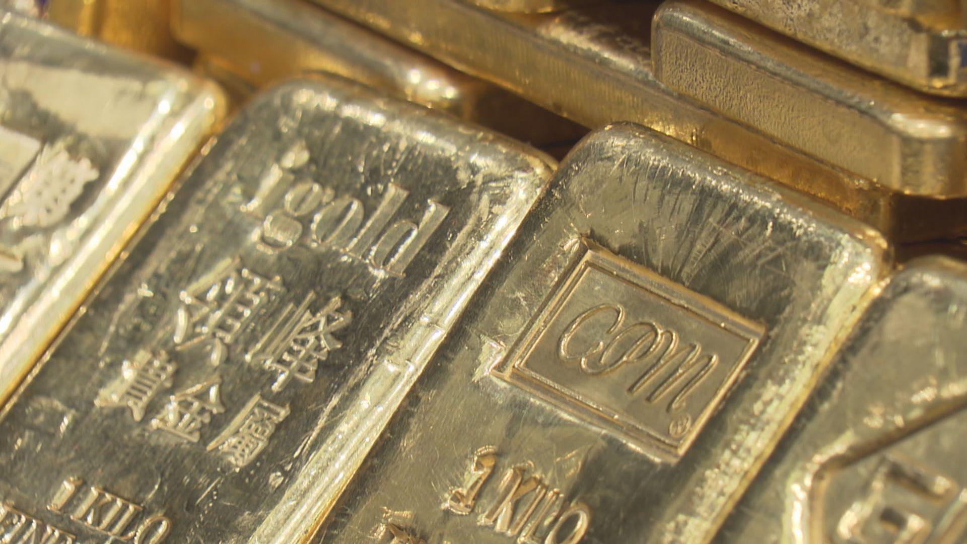 金價上升 因聯儲局官淡化通脹風險