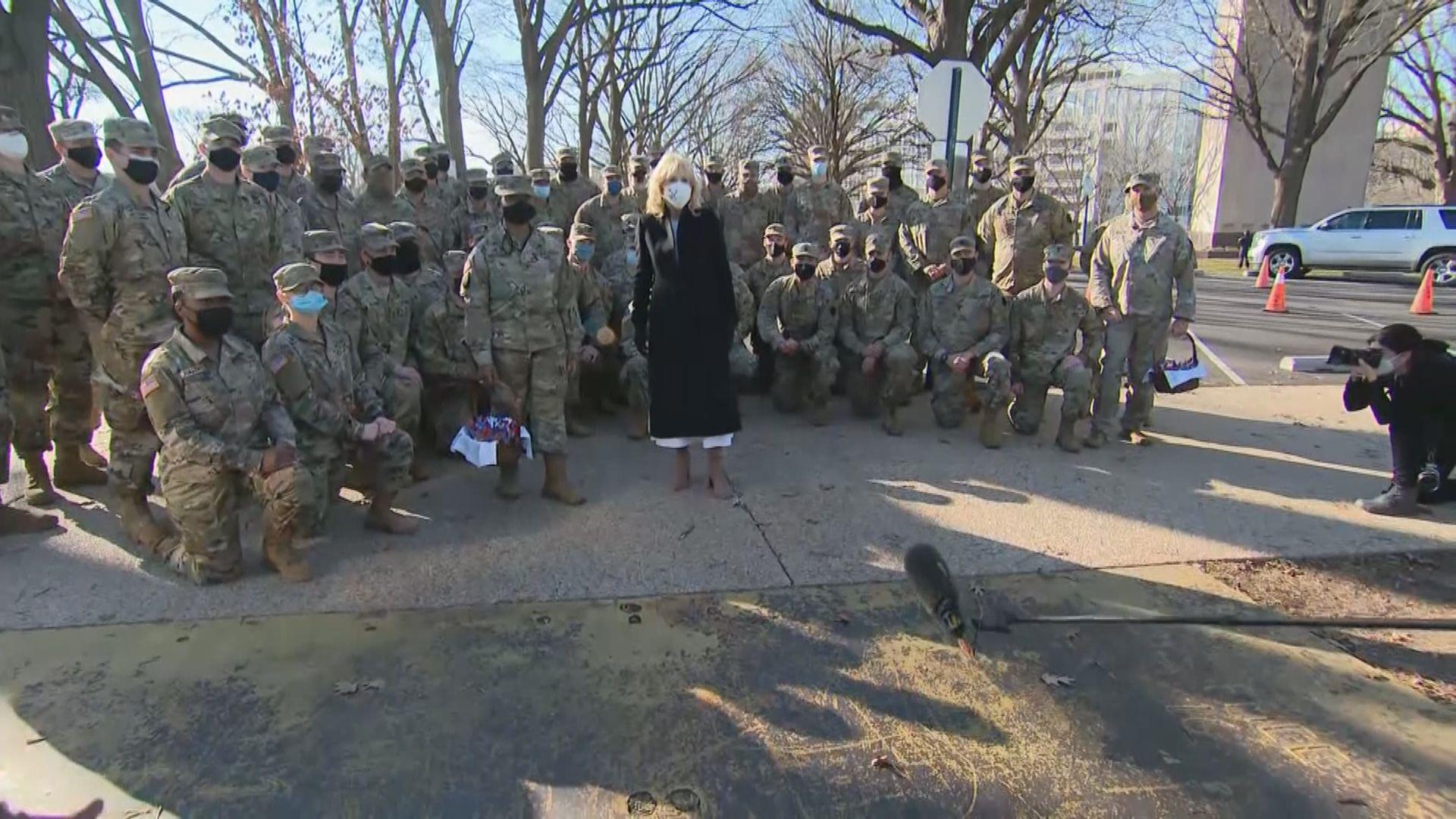 據報最少150名駐守華盛頓的國民警衛軍染疫