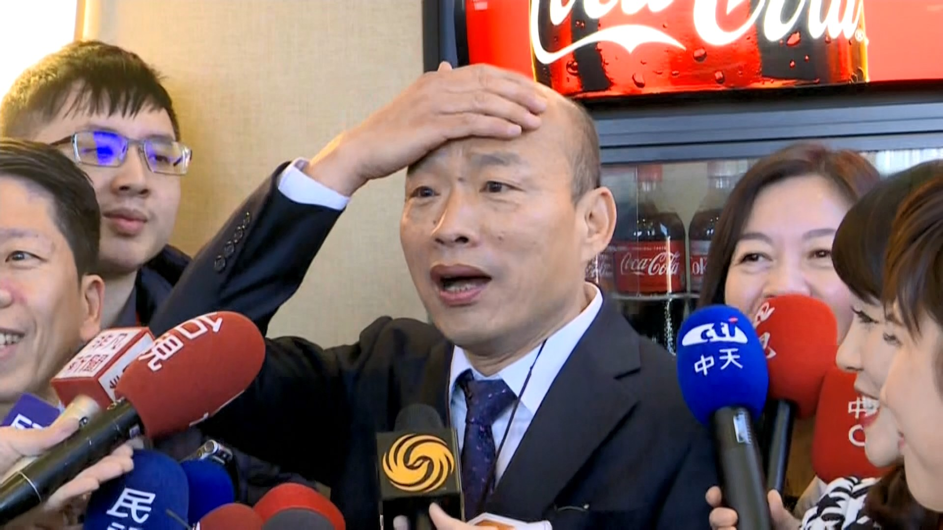韓國瑜訪美 批蔡英文兩岸政策空洞