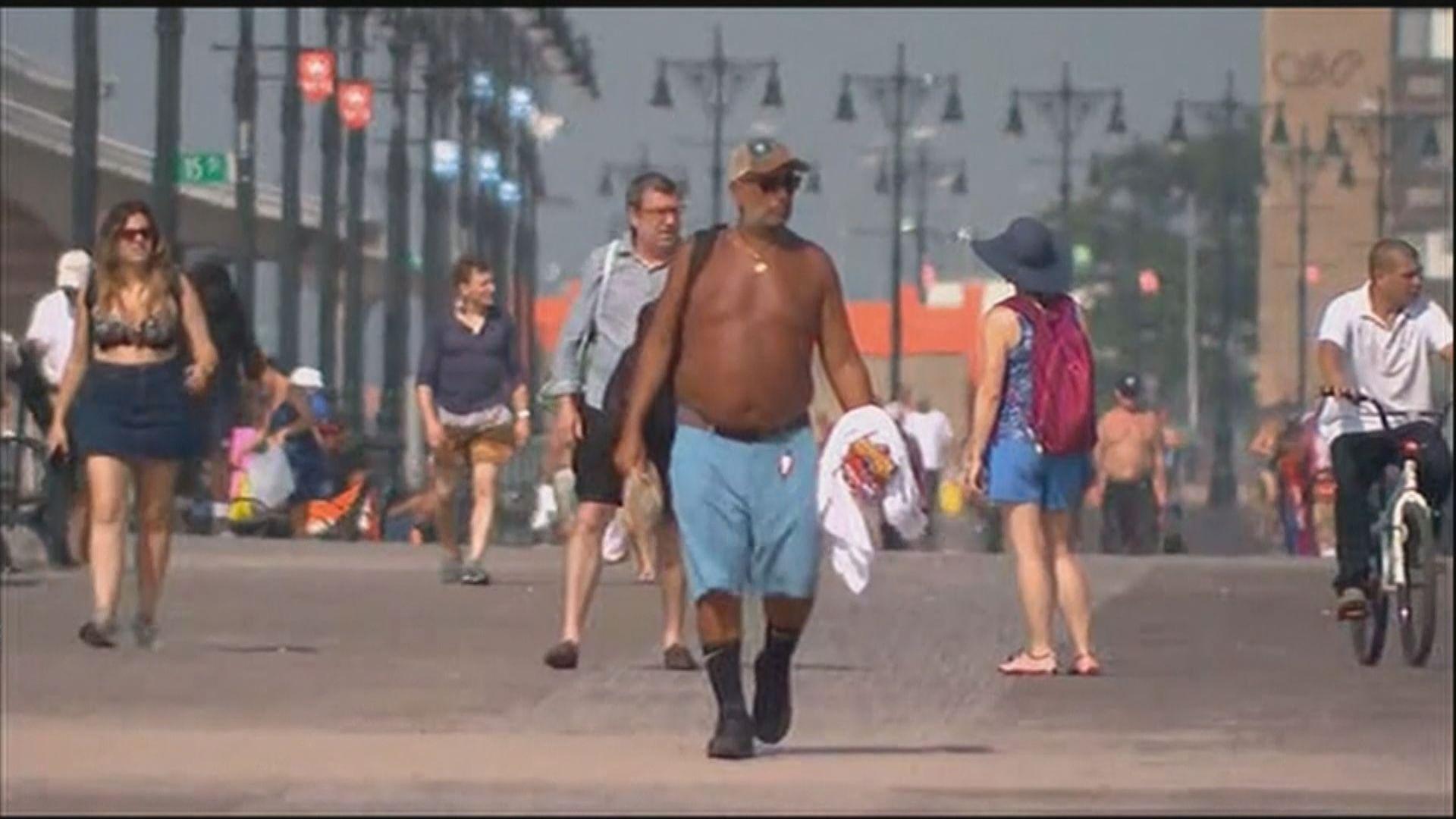 美國熱浪最少六死
