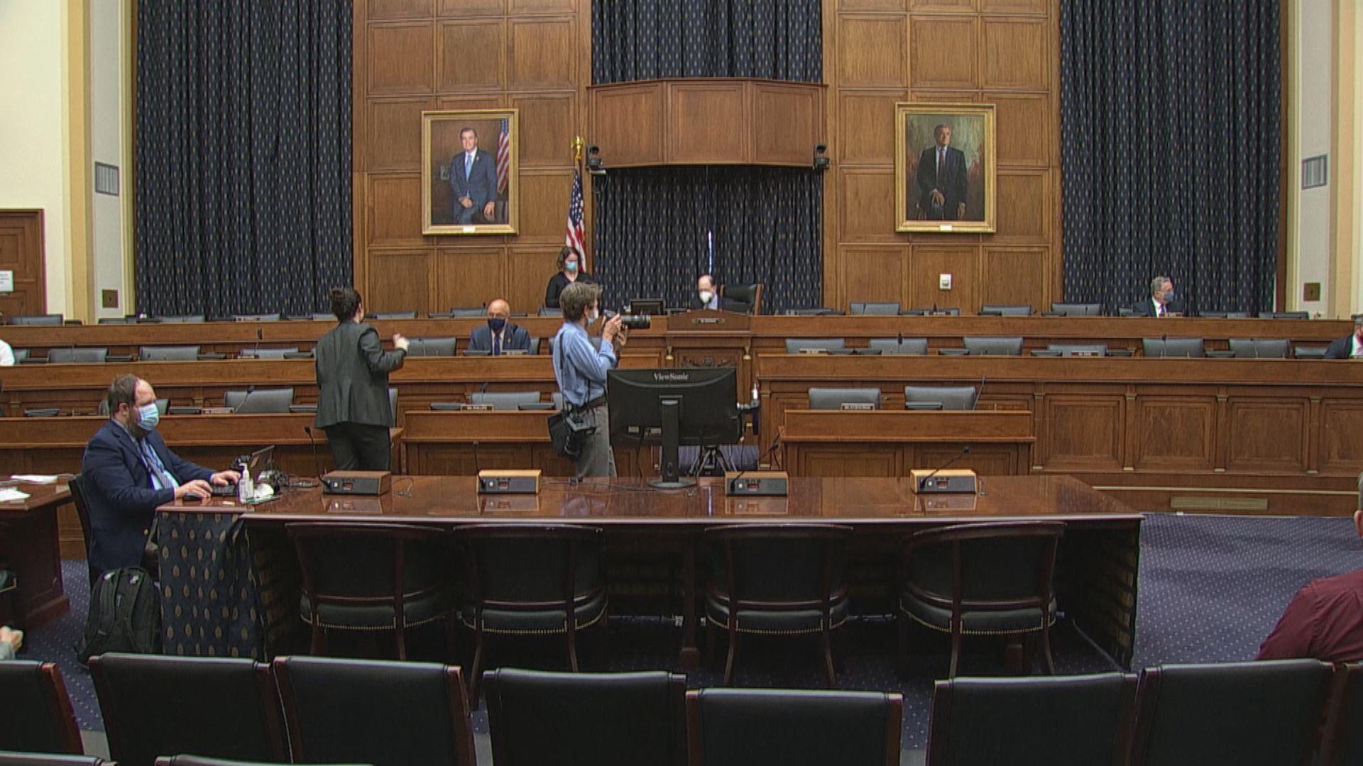美國眾議院聽證會討論香港事務