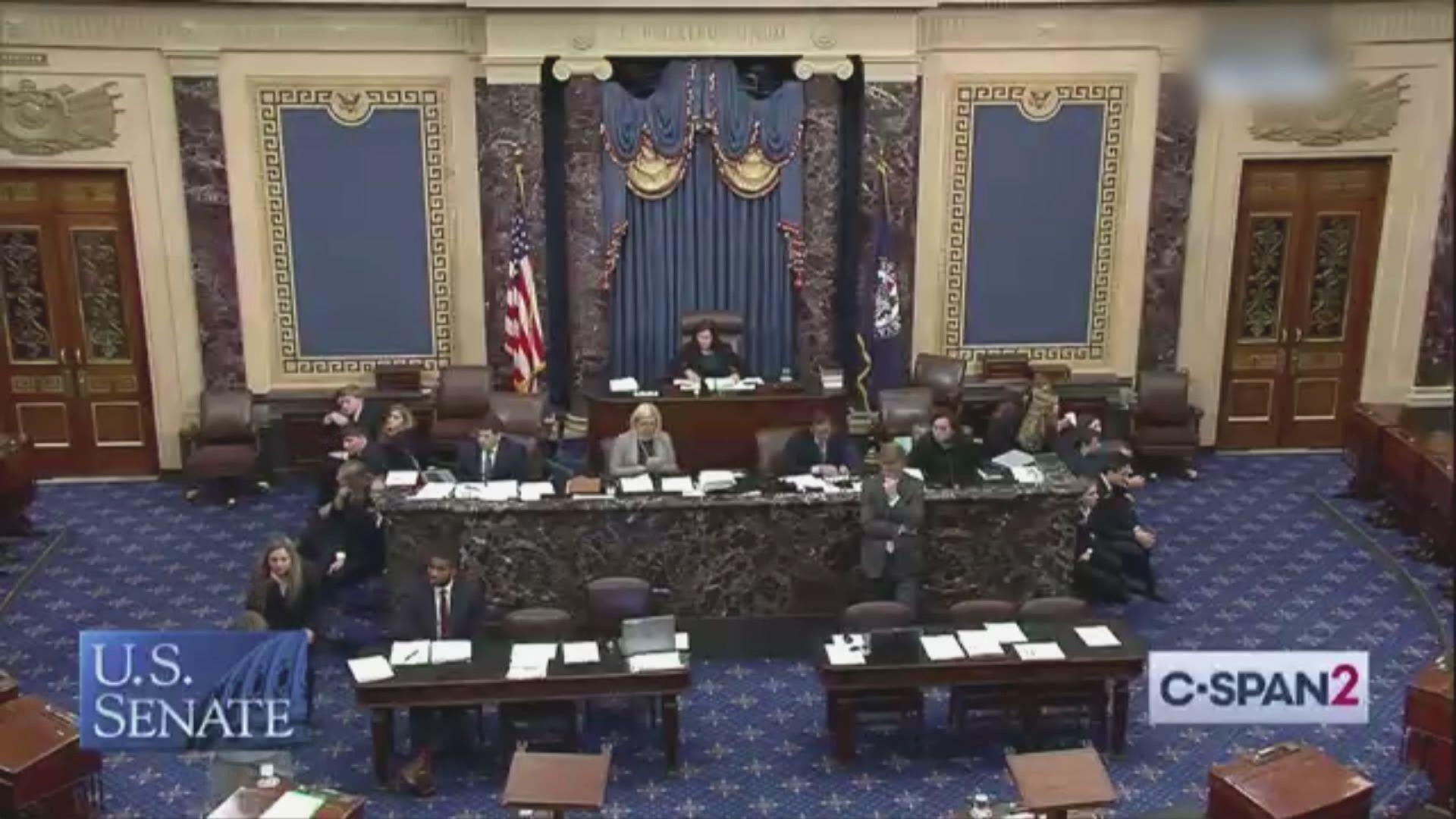 美參眾兩院將合併兩香港法案進行表決