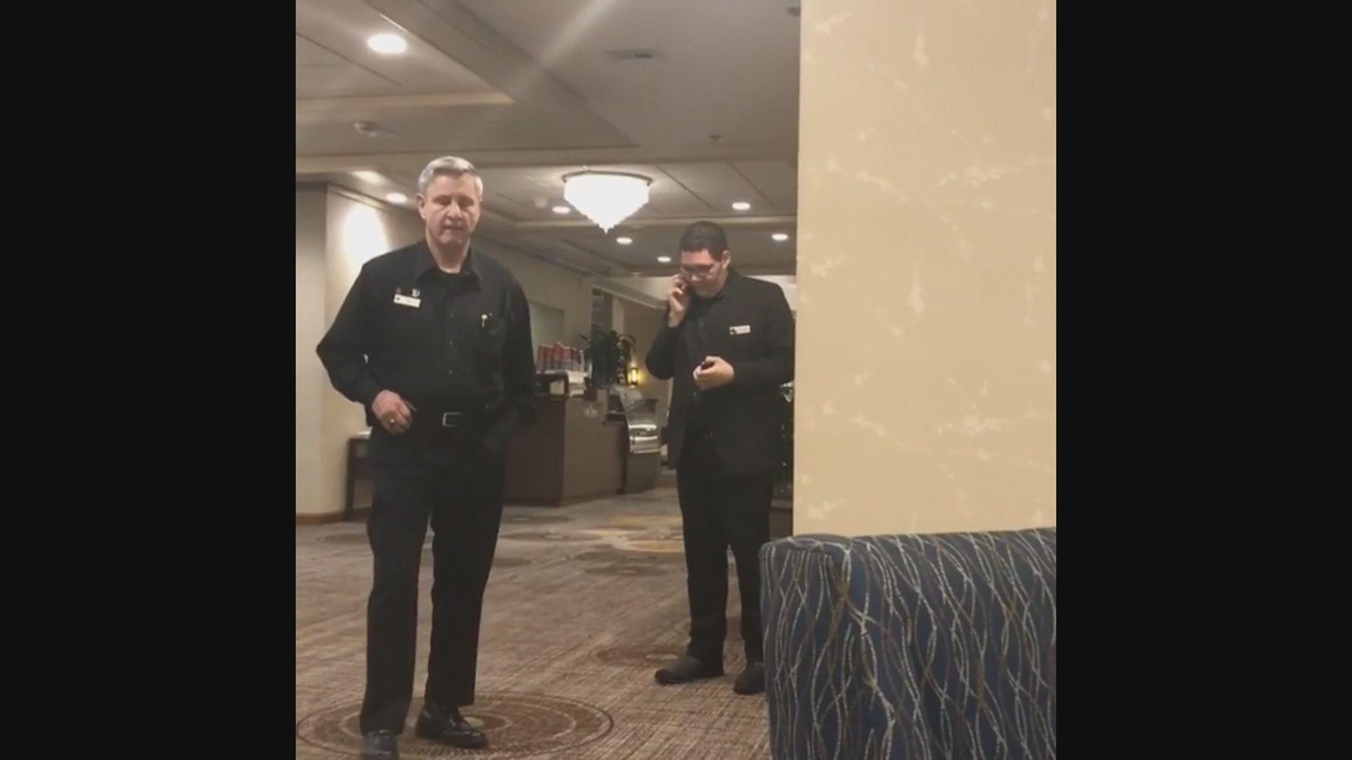 美國一間酒店開除兩名驅趕黑人住客職員