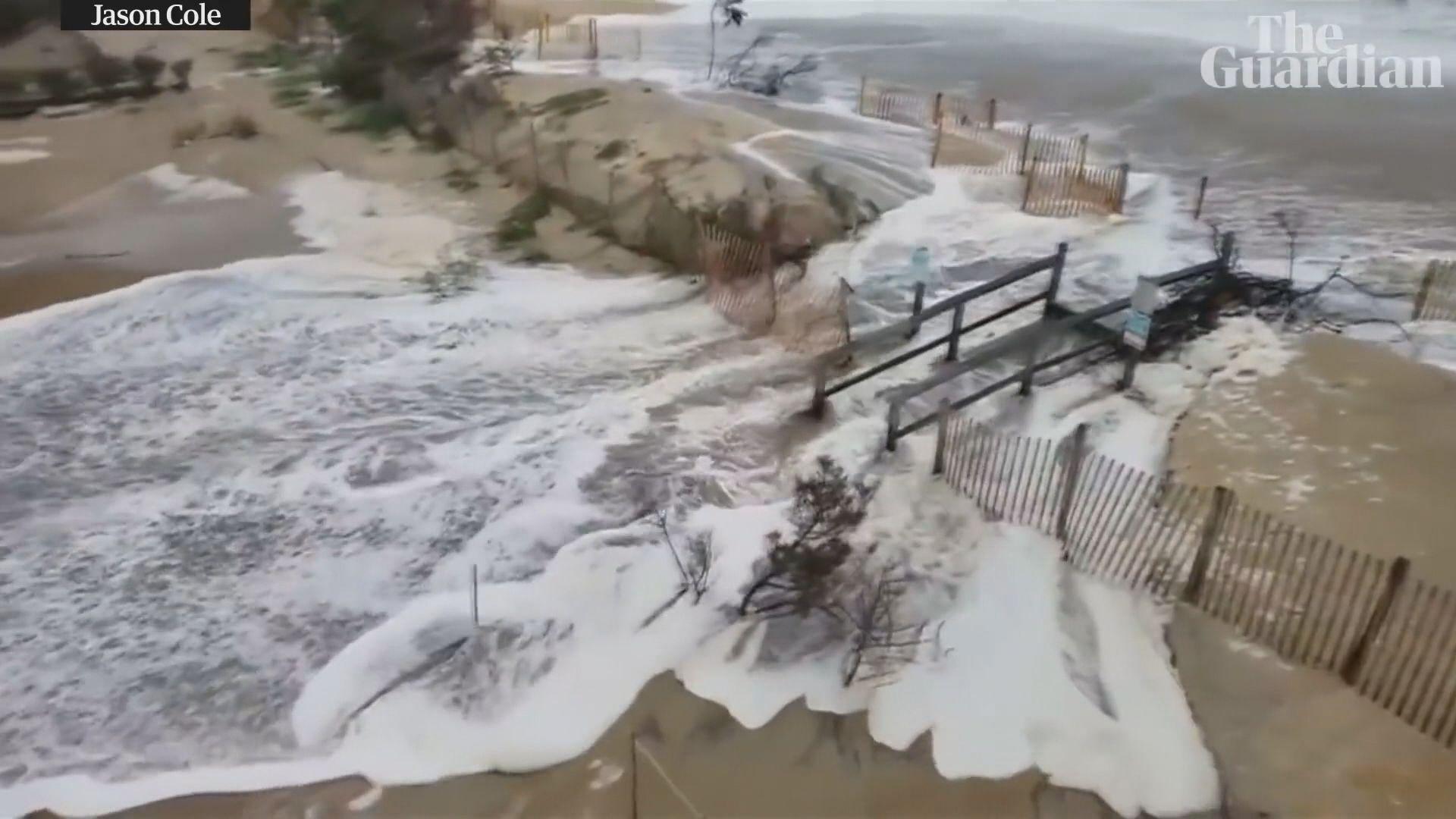 颶風弗洛倫斯吹襲全美二百萬人撤離