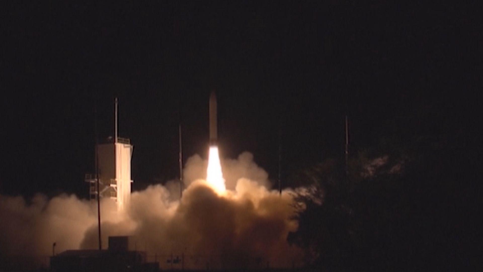 推進火箭故障 美軍測試高超音速武器計劃遇挫