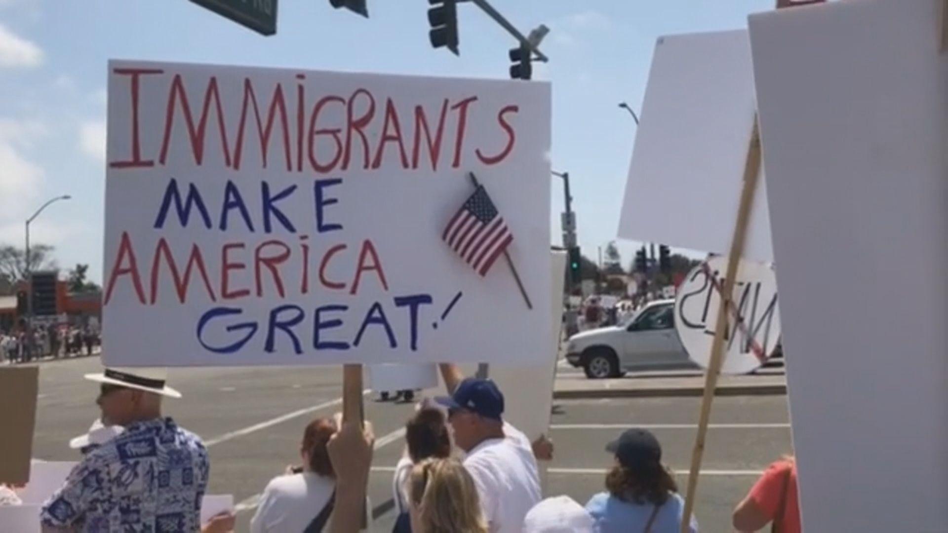 美國周日展開搜捕無證移民行動