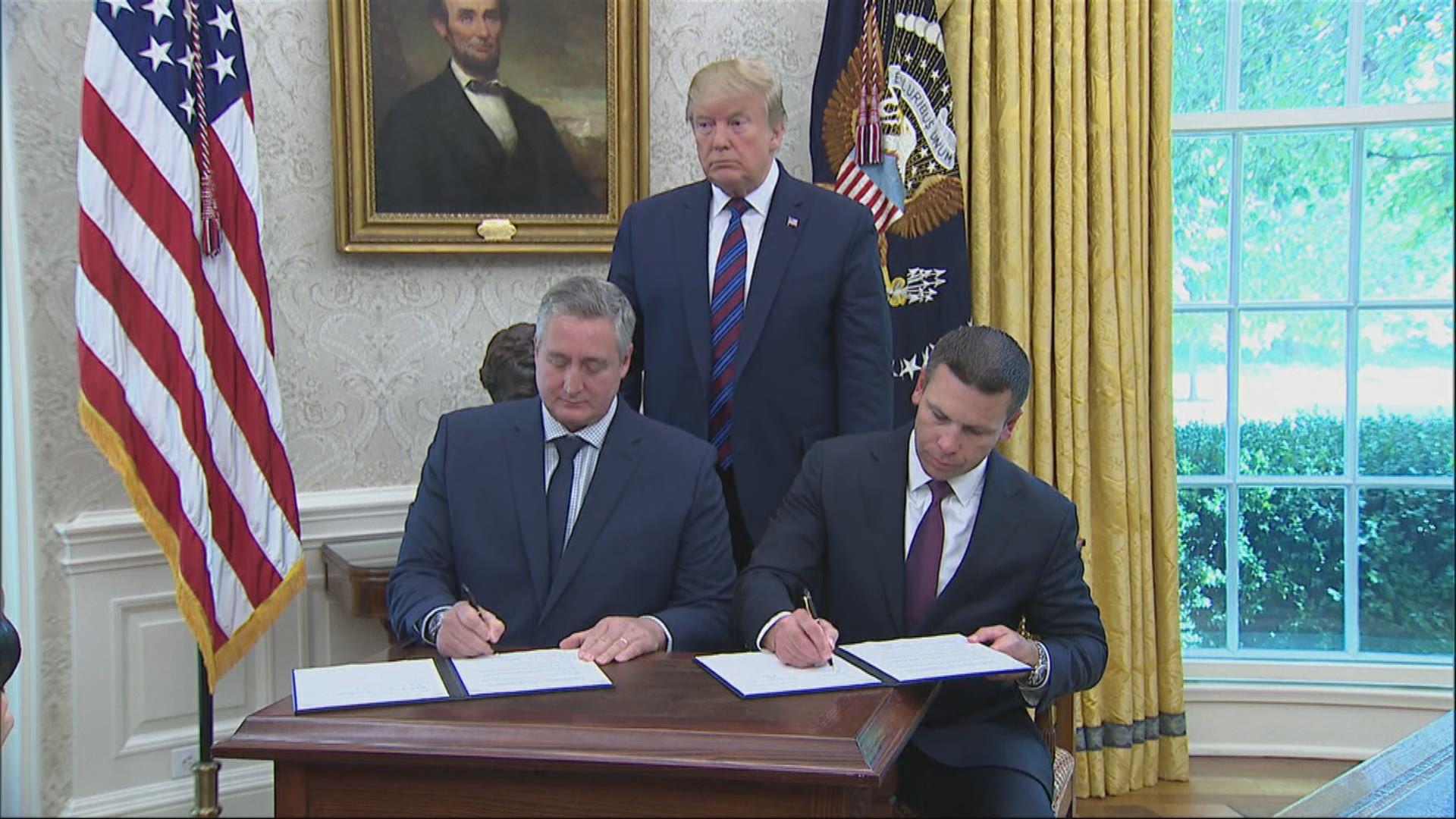 危地馬拉與美國簽訂安全第三國協議