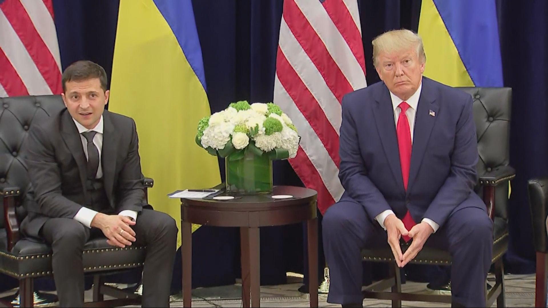 國安官員憂慮特朗普要求烏克蘭查拜登