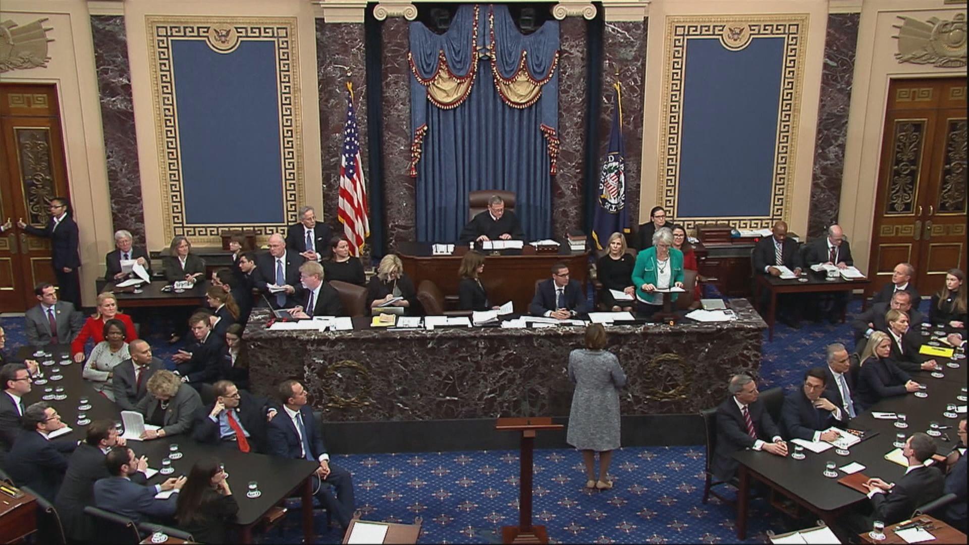 參議院表決特朗普兩項彈劾控罪不成立