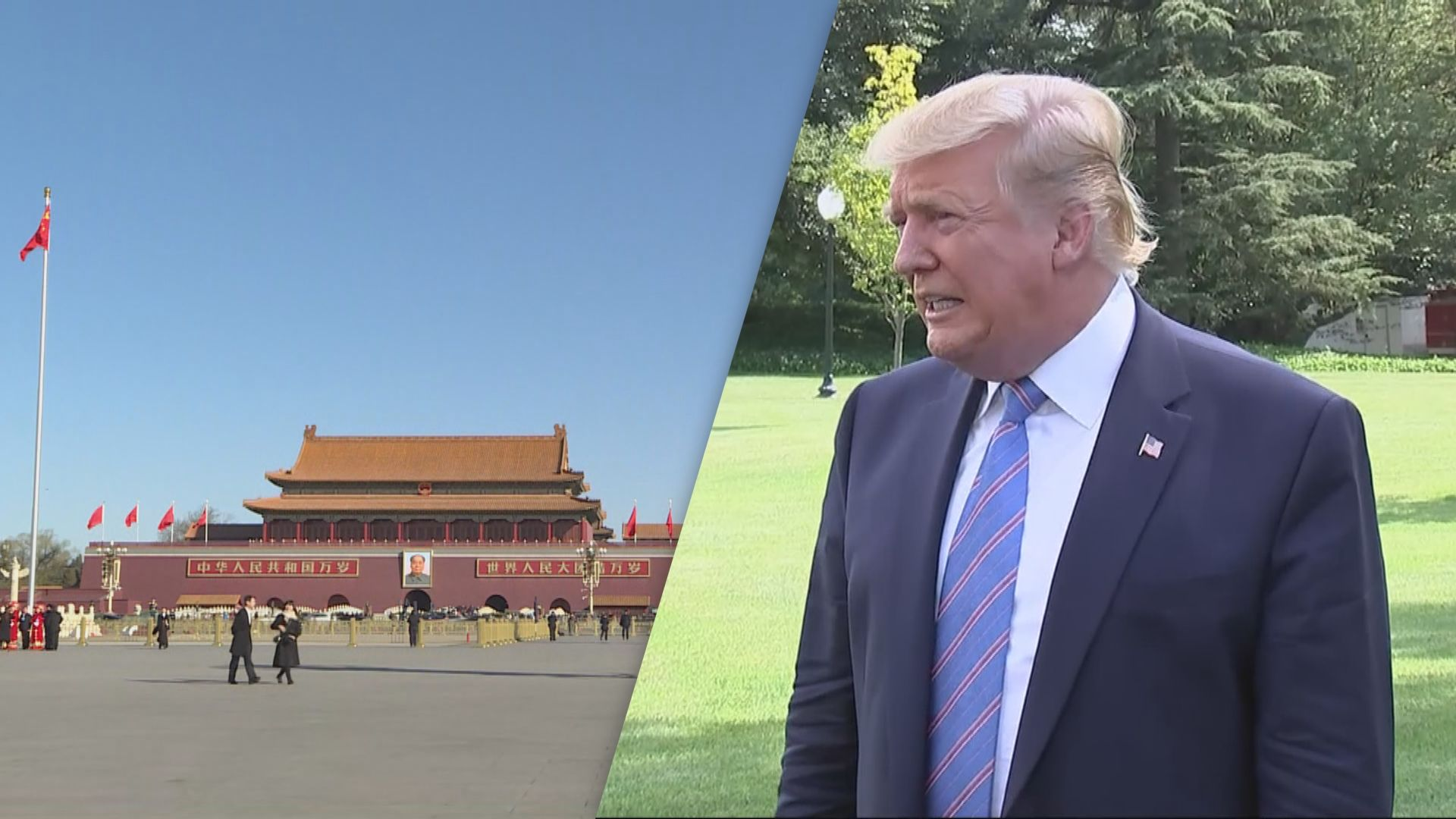 特朗普要求中國加入裁軍協議