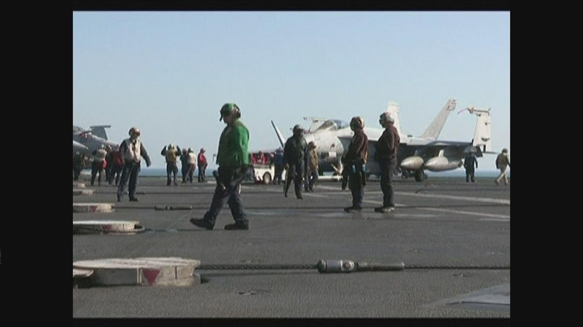 美軍在中東加強部署回應伊朗挑戰