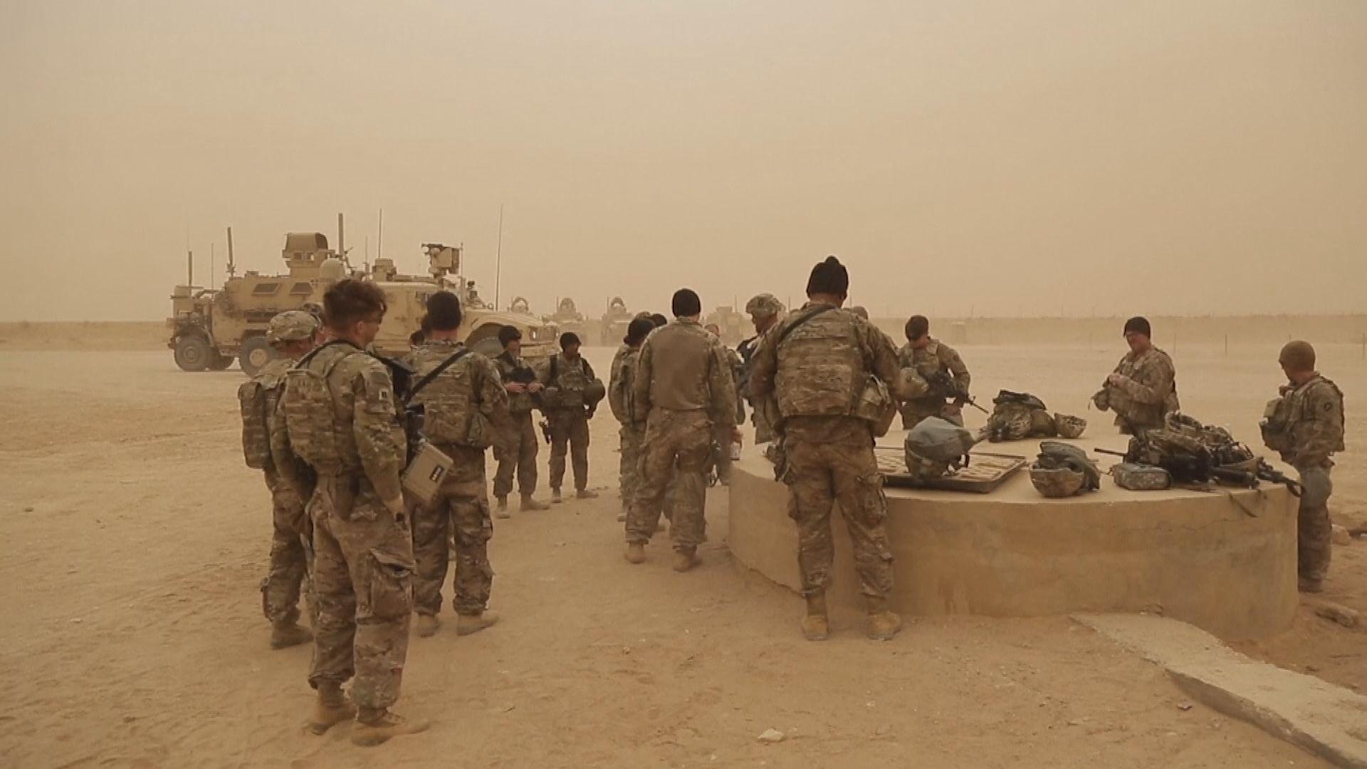 美媒︰若美軍遇襲擬派12萬軍赴中東