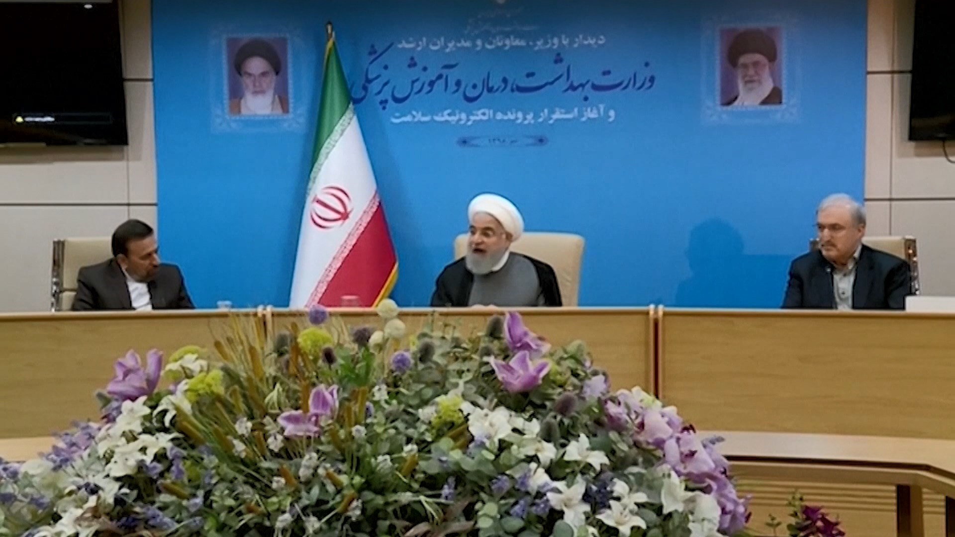 伊朗總統魯哈尼狠批美國新一輪制裁