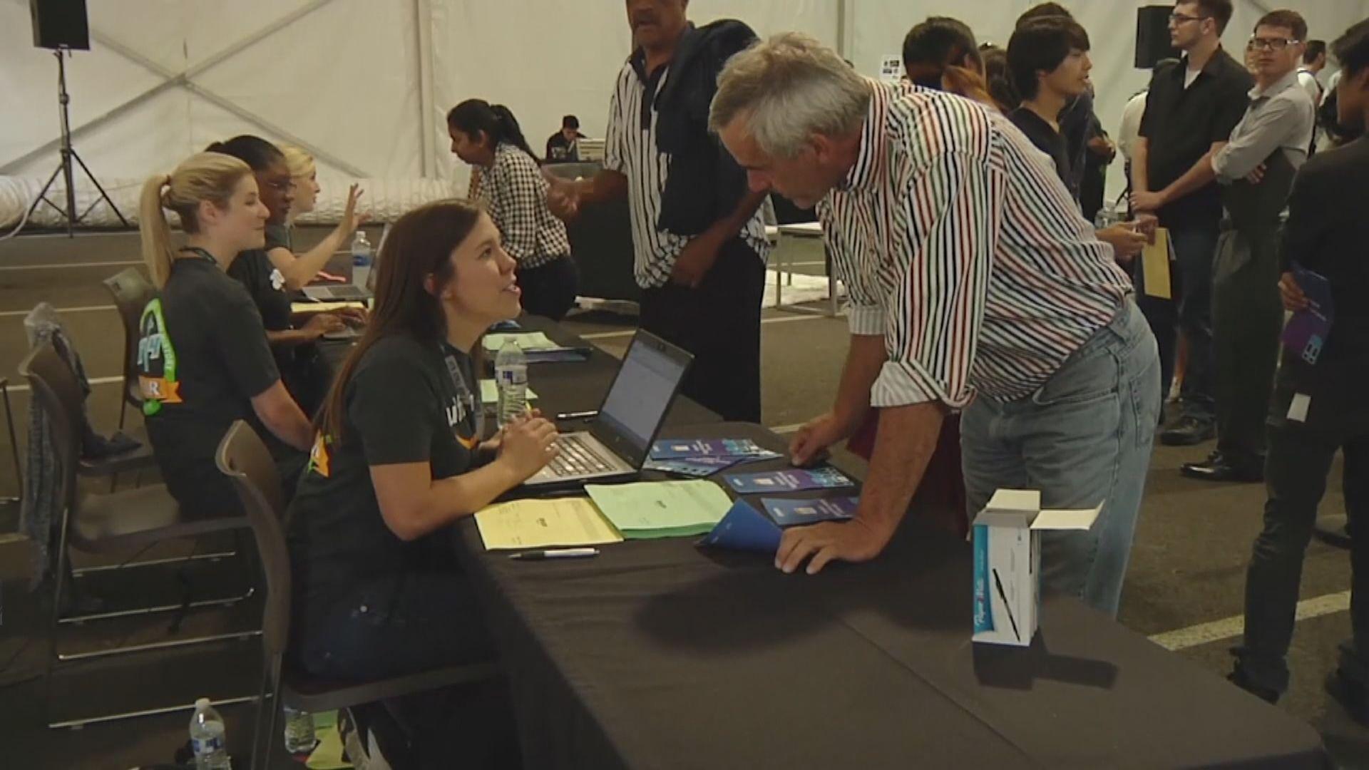 美國上周新申領失業救濟人數升至三個月高位