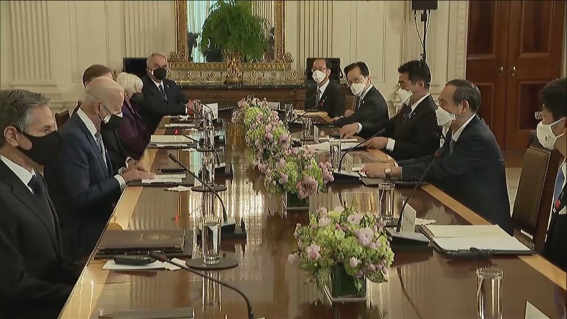 菅義偉稱與拜登討論台灣及新疆問題