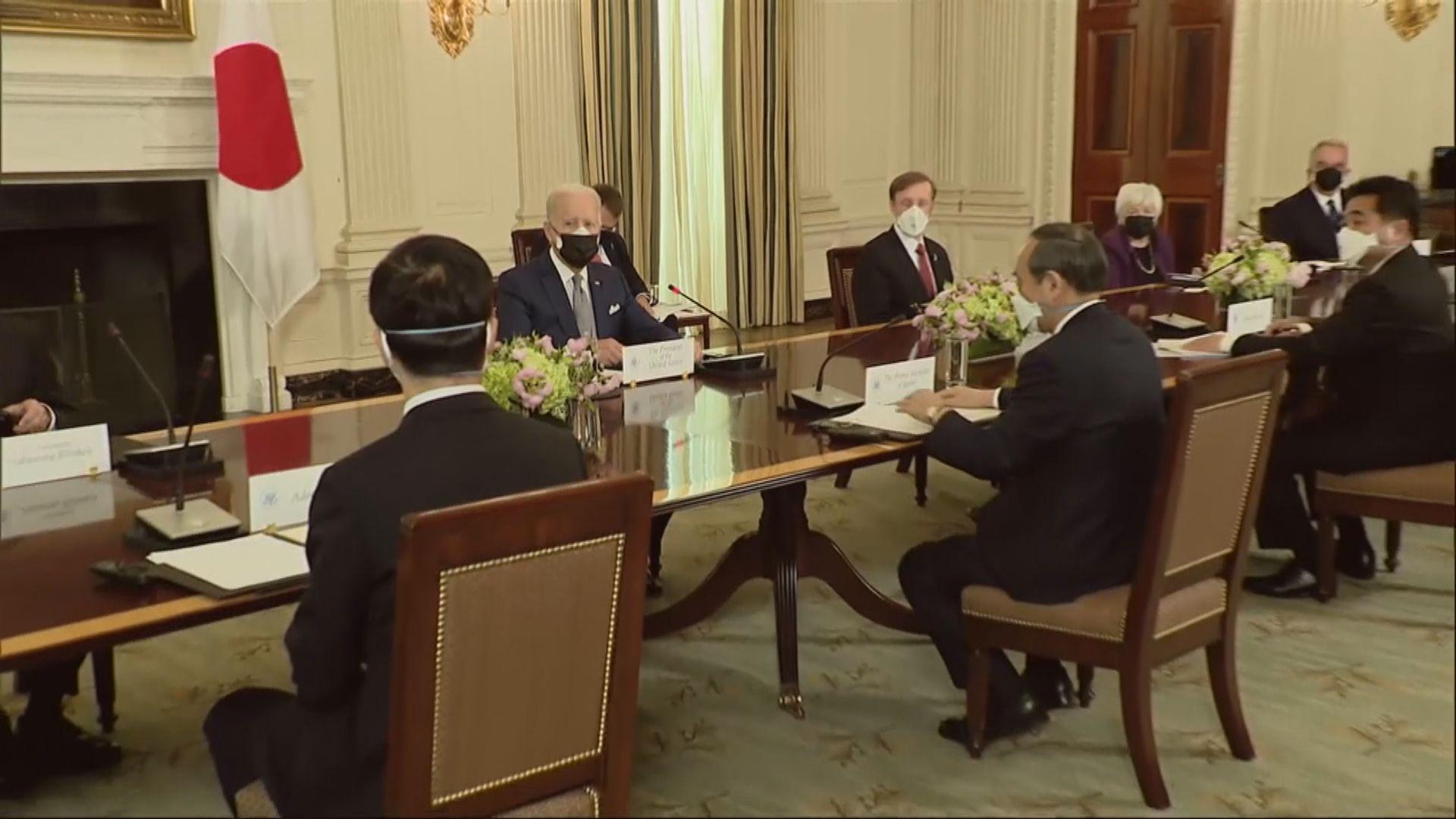 美日發聯合聲明 非常關注香港及新疆人權狀況