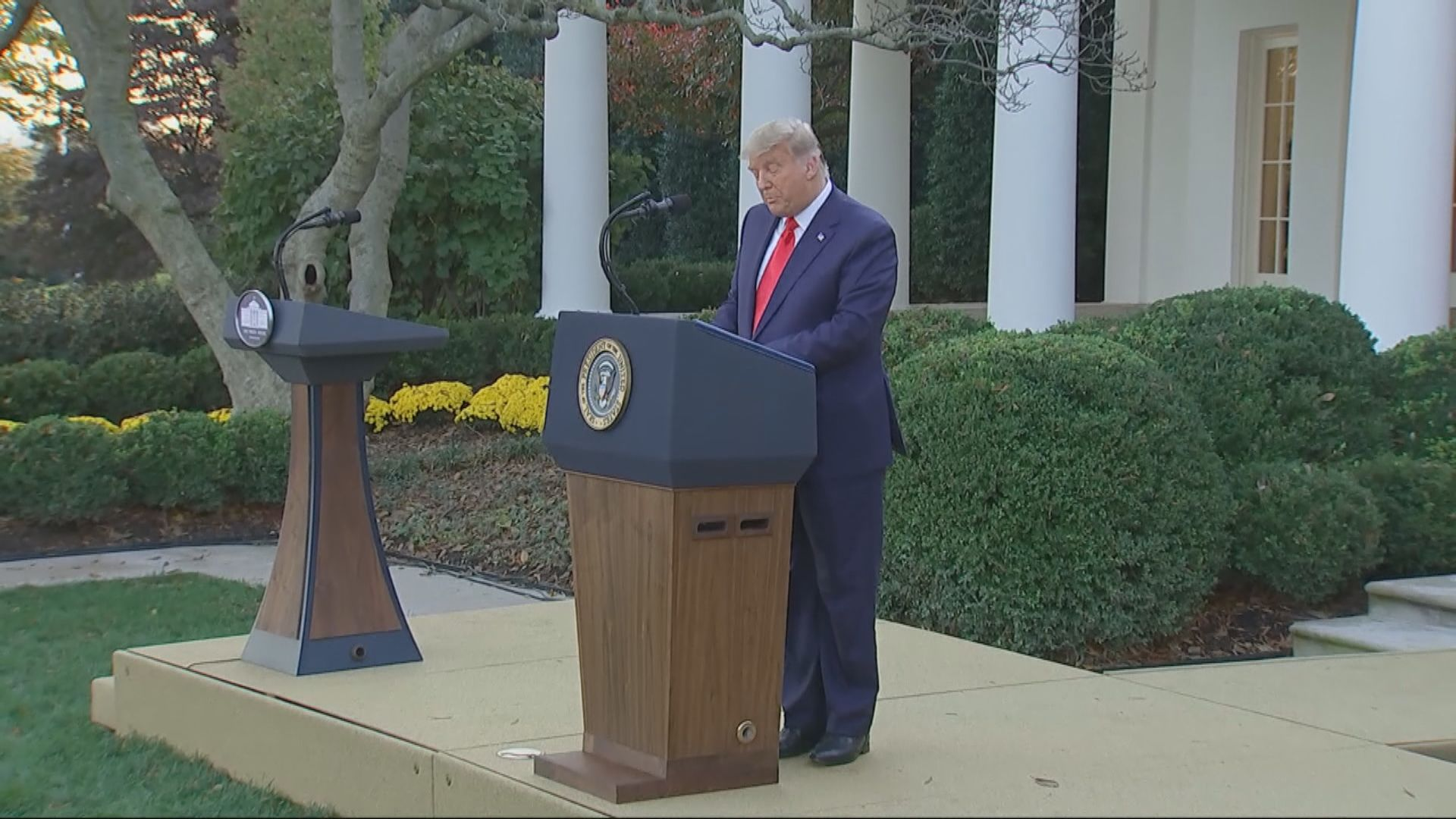 特朗普指時間將證明誰入主白宮 拜登下周起接收國安匯報