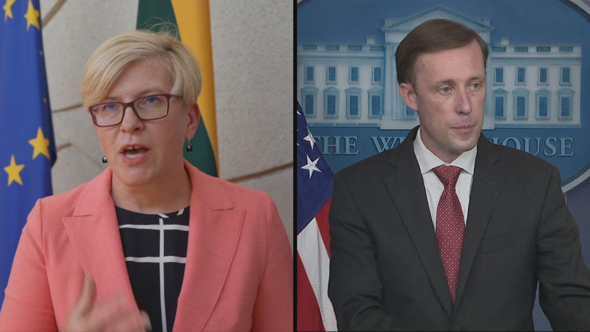 中國被指脅迫立陶宛 美稱強力支持立陶宛應對