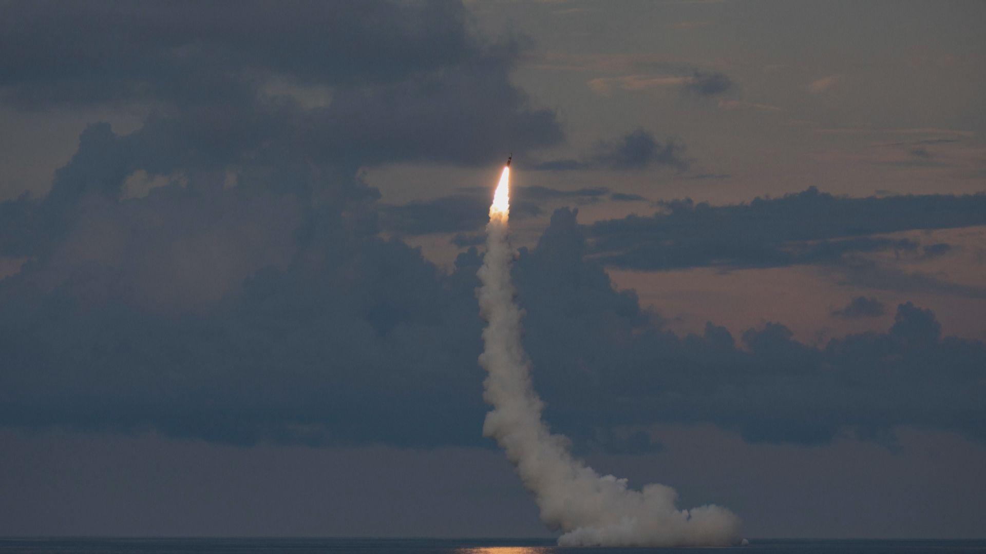 美軍試射兩支潛射彈道導彈 否認展示實力