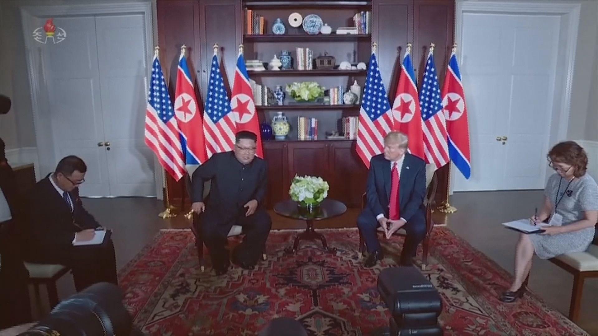 白宮:金正恩冀再與特朗普會面
