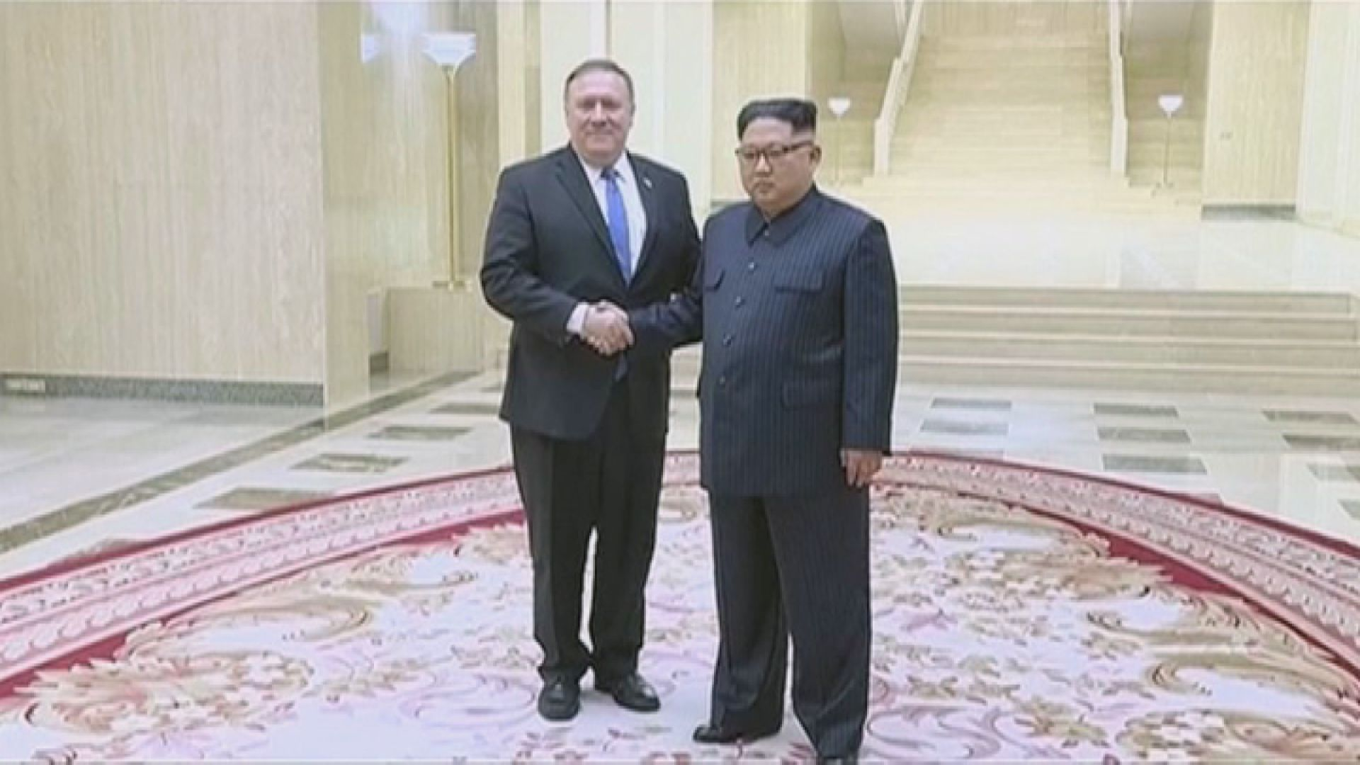 蓬佩奧周日訪平壤 拒為棄核設時限