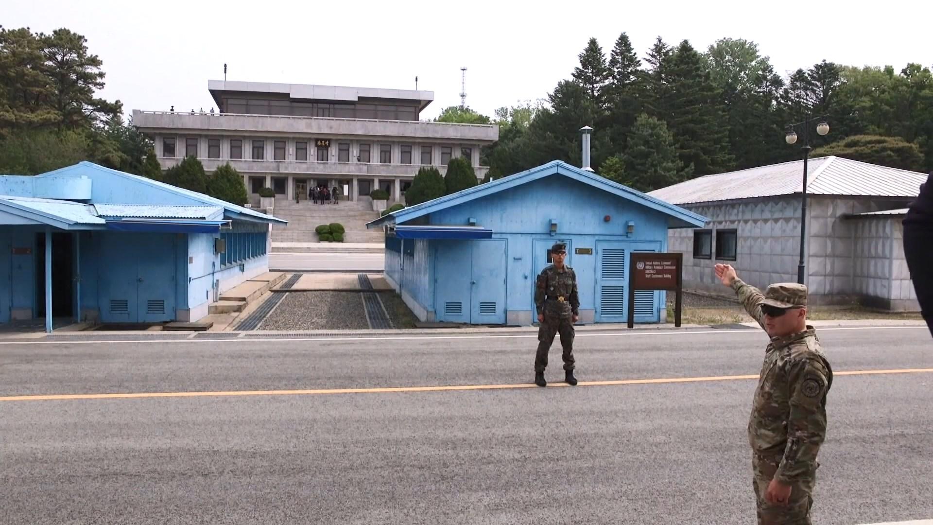 特朗普到訪南韓擬參觀非軍事區