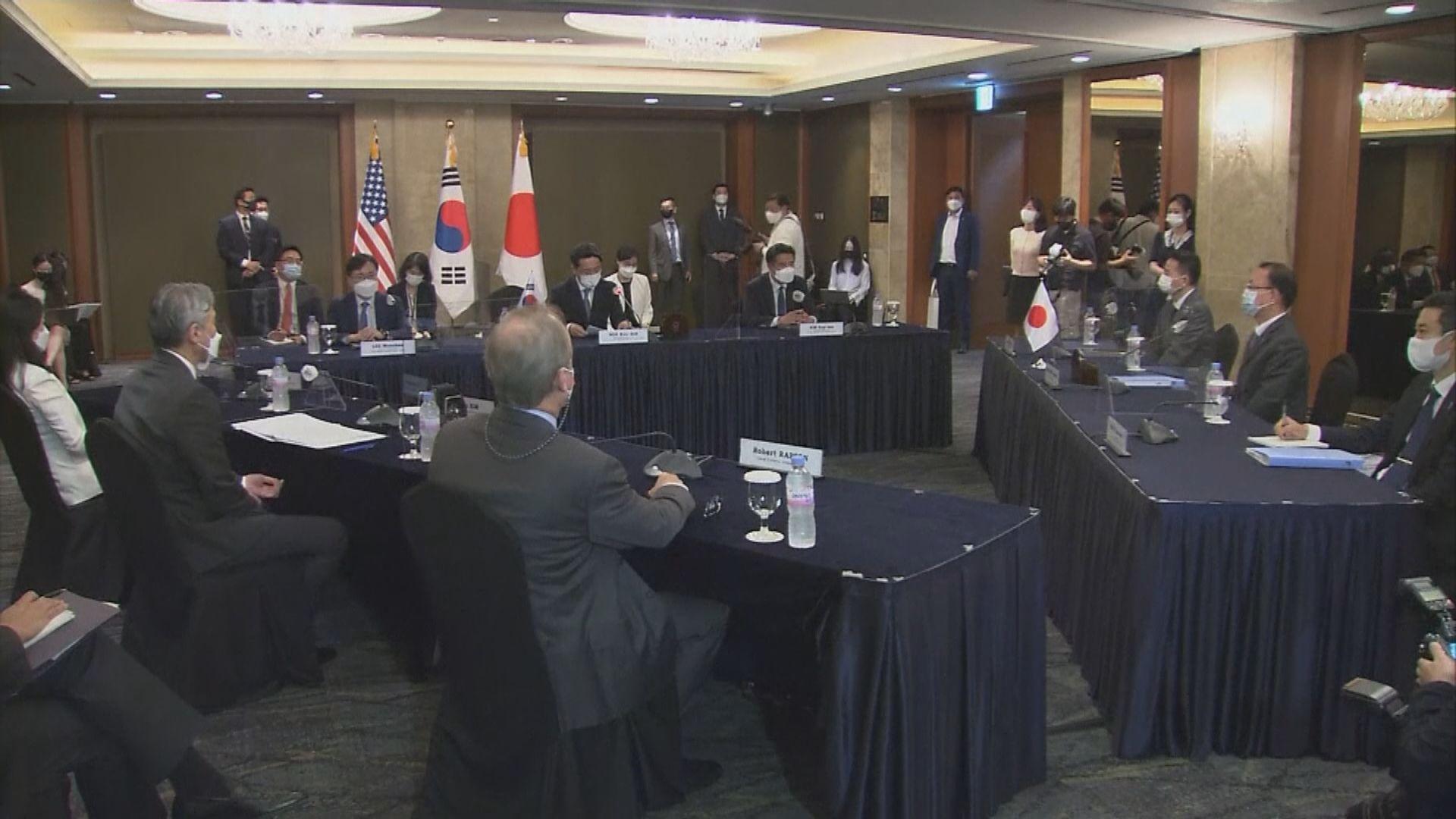 美韓日代表在首爾會談討論北韓問題