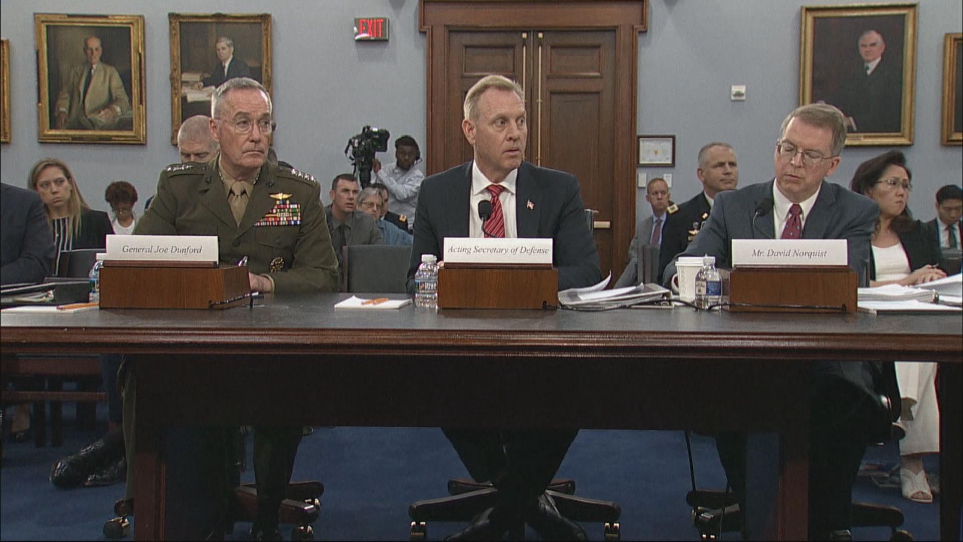 特朗普正式提名沙納漢任國防部長